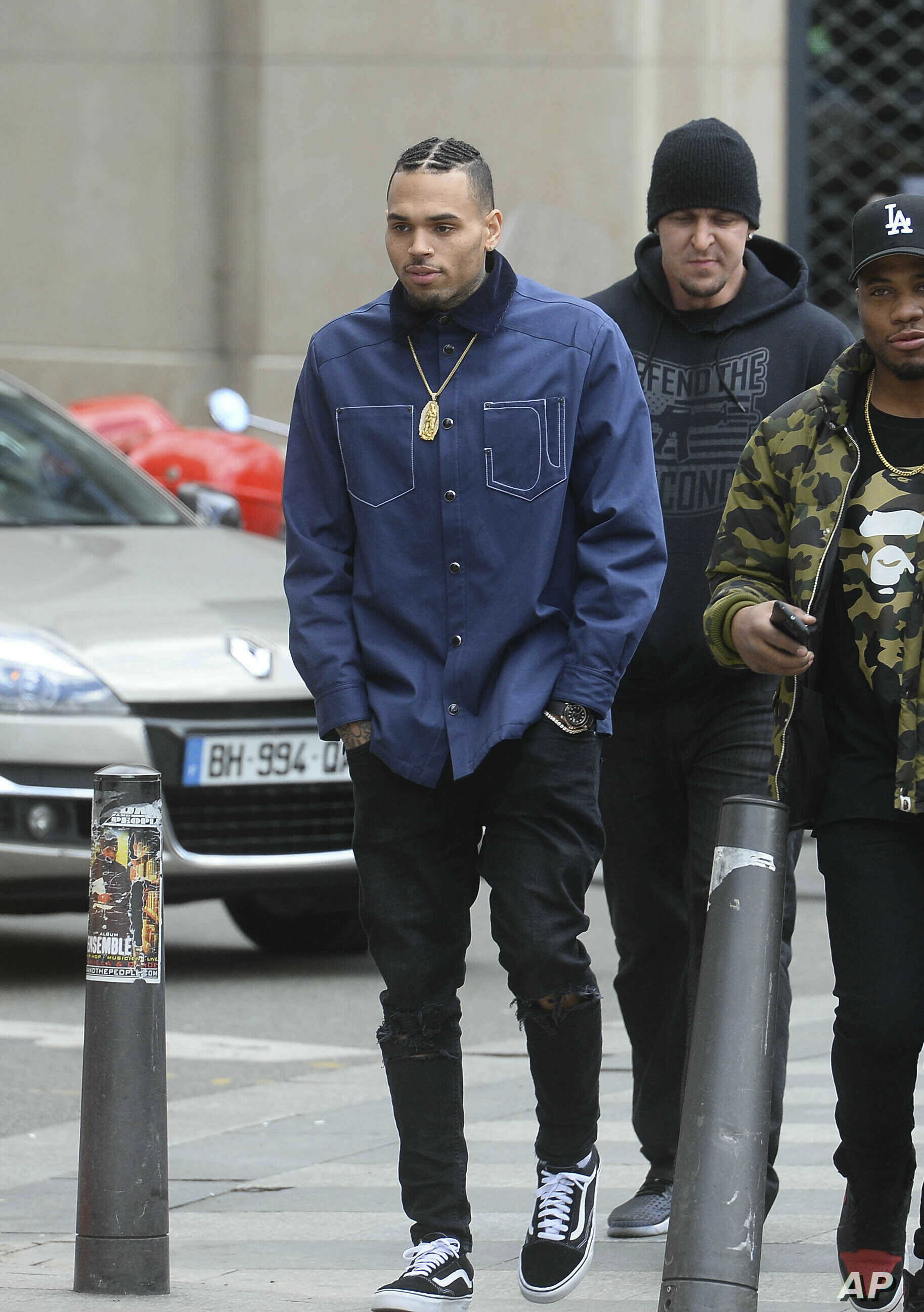 Lawyer Accuses Chris Brown of 'Disrespect' in Rape Case