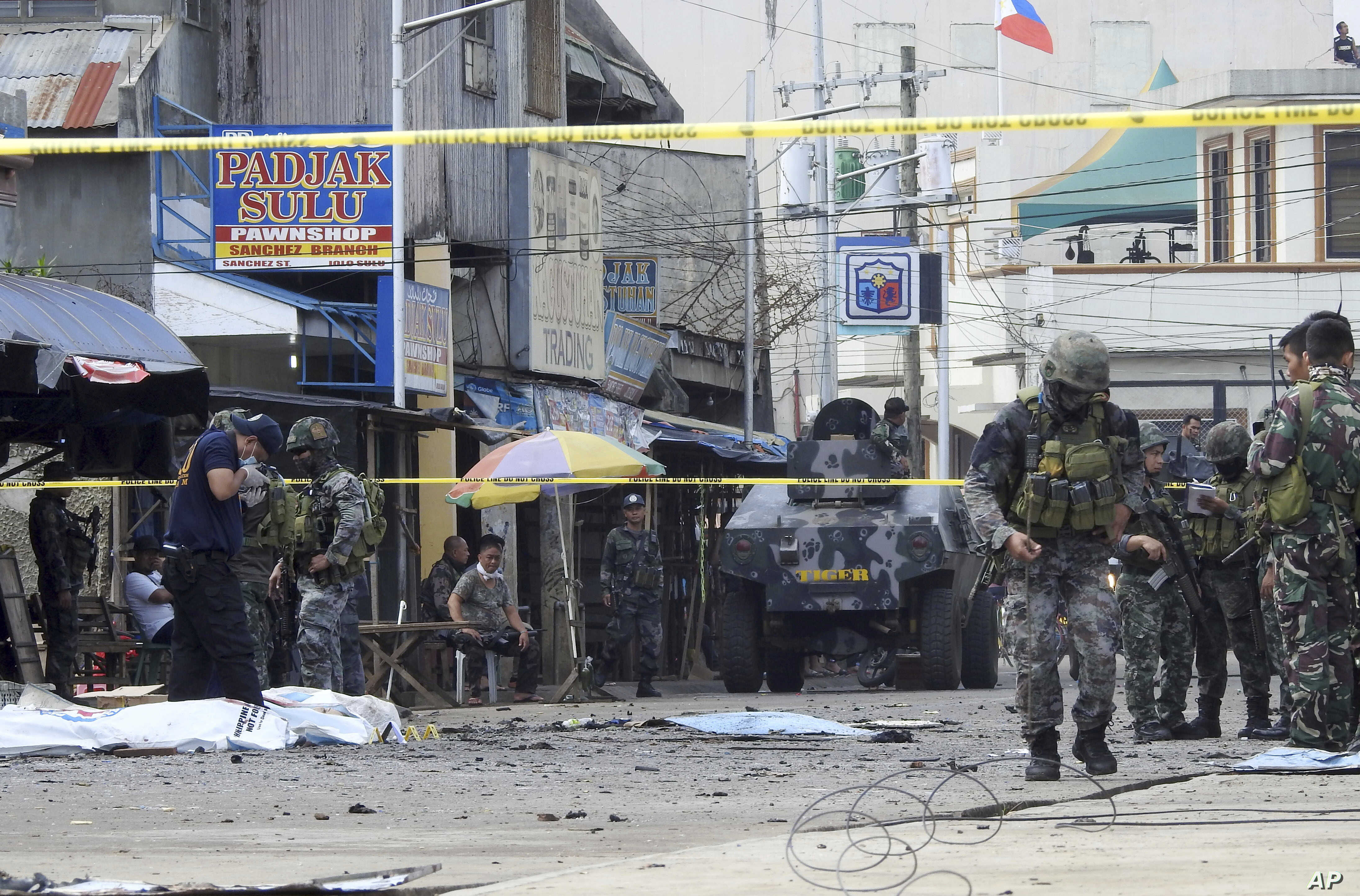 Philippine Bombings May Be Protest of Muslim Autonomy Law