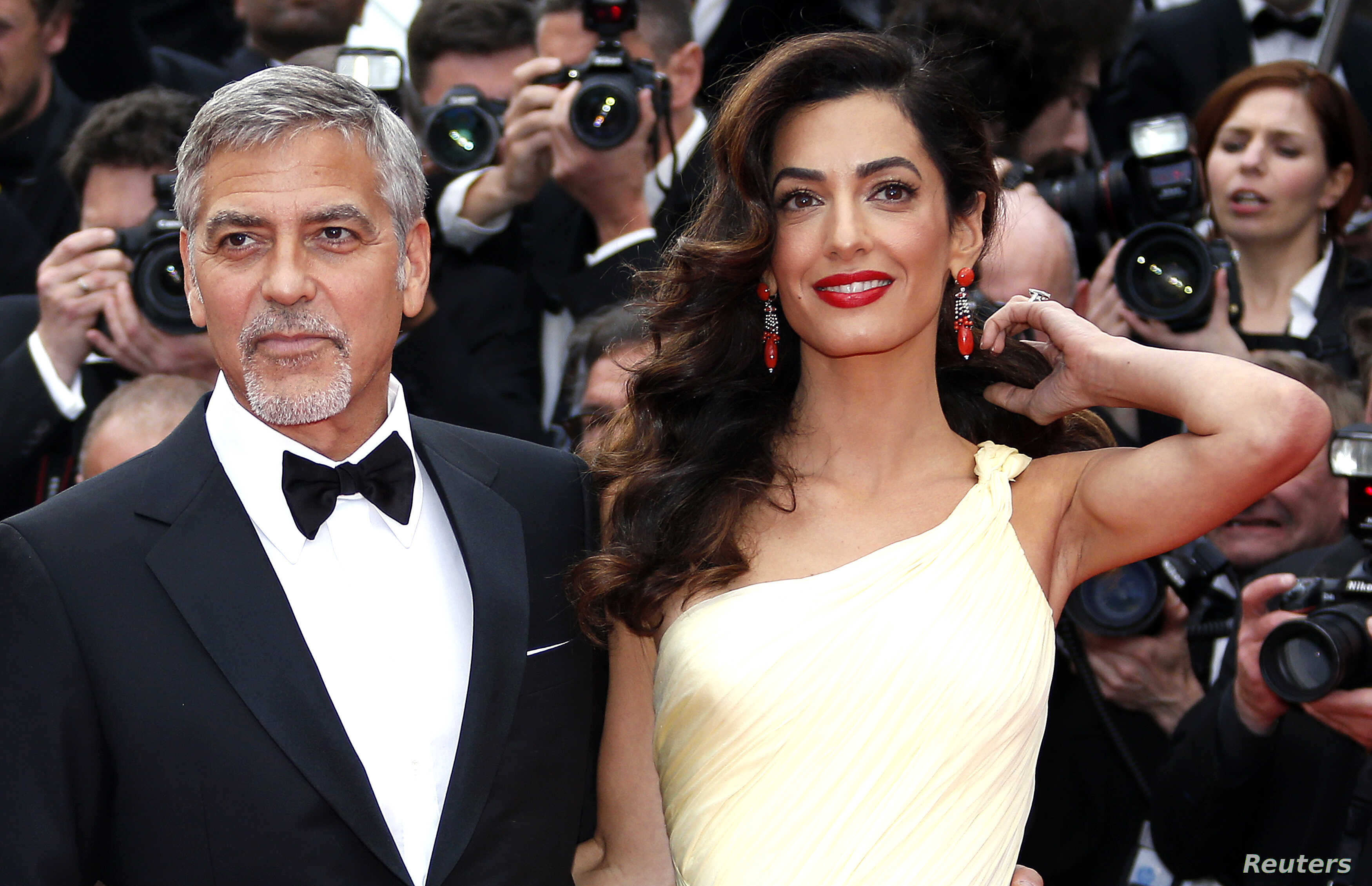 George and Amal Clooney Welcome Twins: A Boy and a Girl | Voice of