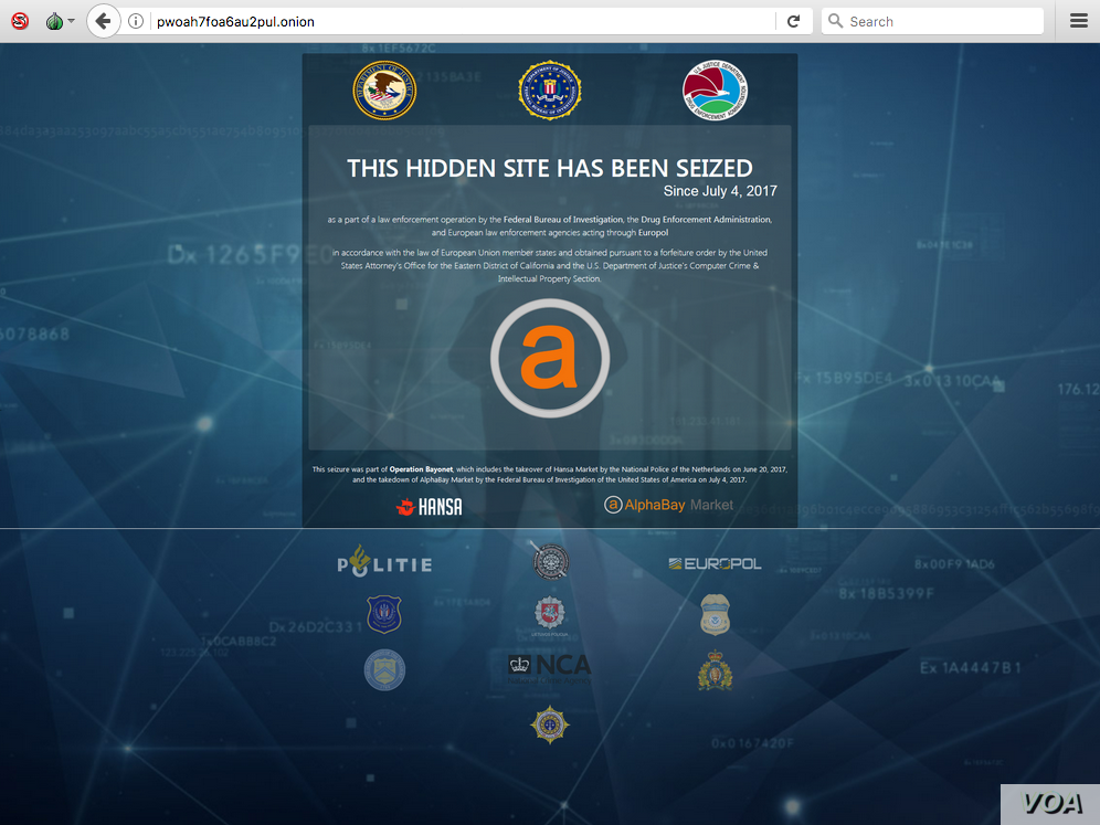 AlphaBay was created by Alexandre Cazes, who lived in Thailand. He singlehandedly controlled all aspects of the site's operations through June 2017. The site went offline on July 4. (Image courtesy of Nicolas Christin)