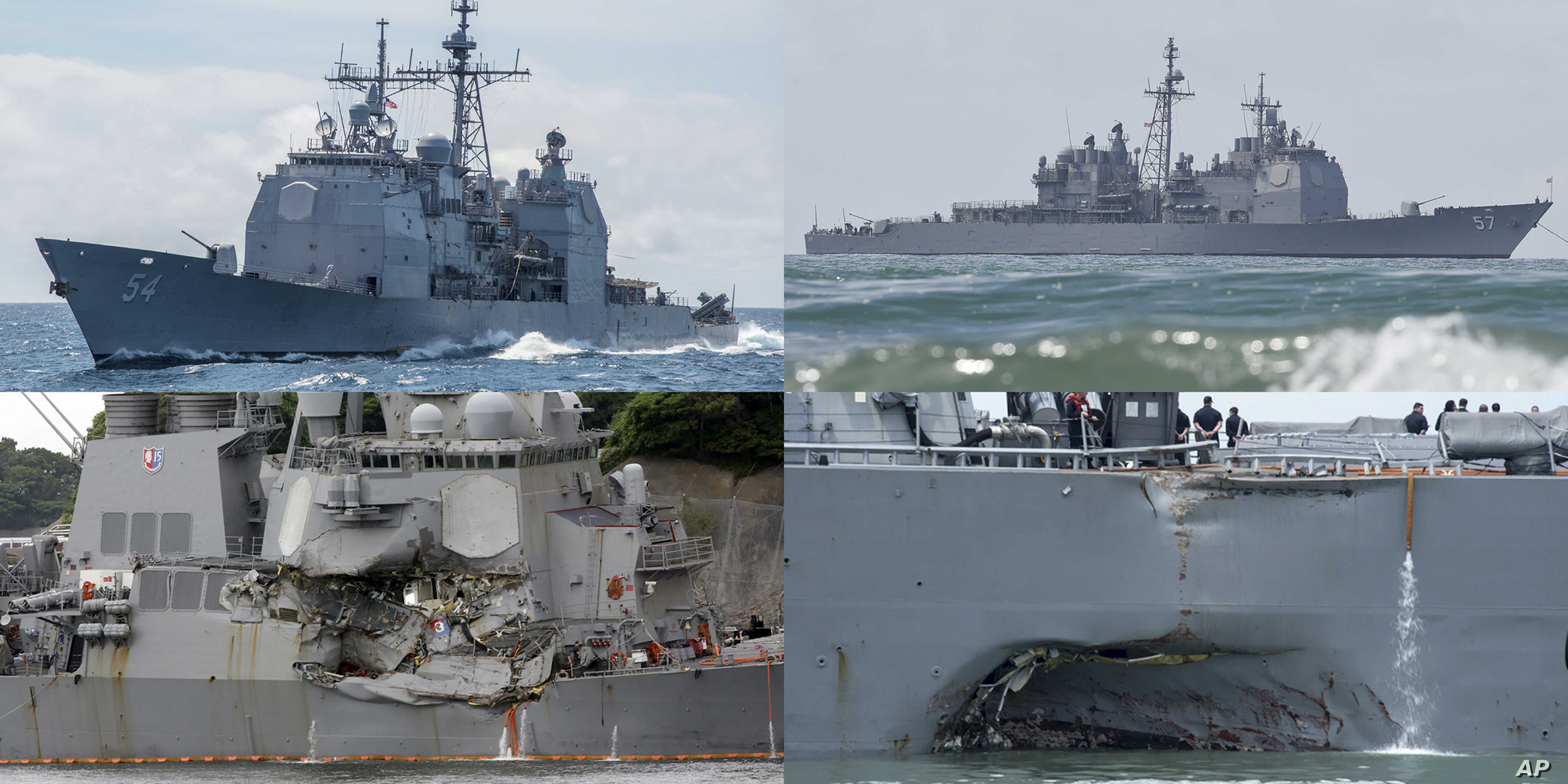 Sudden Turn' Led to Deadly Collision of US Naval Warship