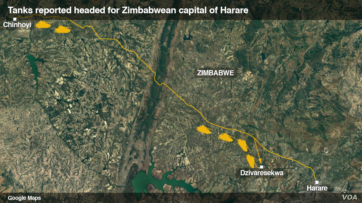 Several Explosions Heard in Zimbabwe Capital | Voice of