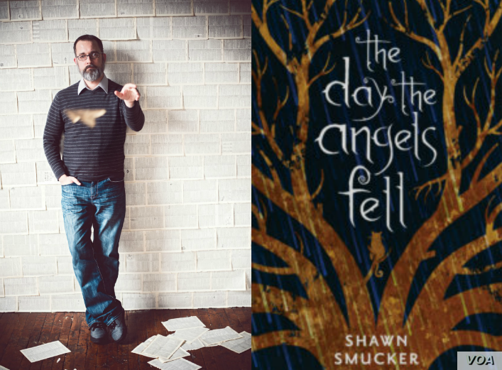 "Shawn Smucker, author of ""The Day the Angels Fell."""