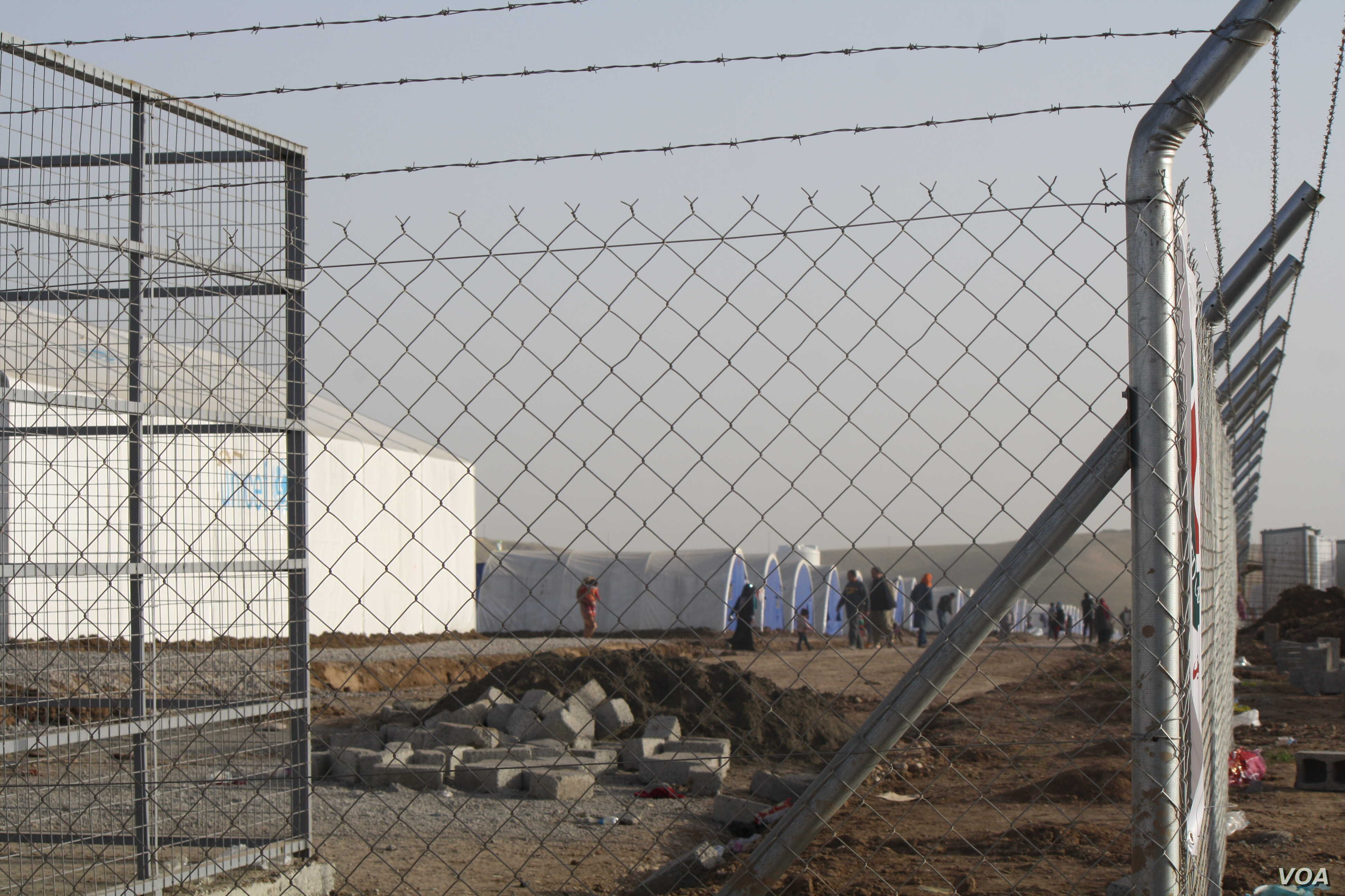 Officials expect that a million people could be displaced by the battle for Mosul by the war's end.  In October, new camps were empty but now those and others are being filled nearly as fast as they are built, Hassan Shams, Kurdish Iraq, Jan. 10, 201...