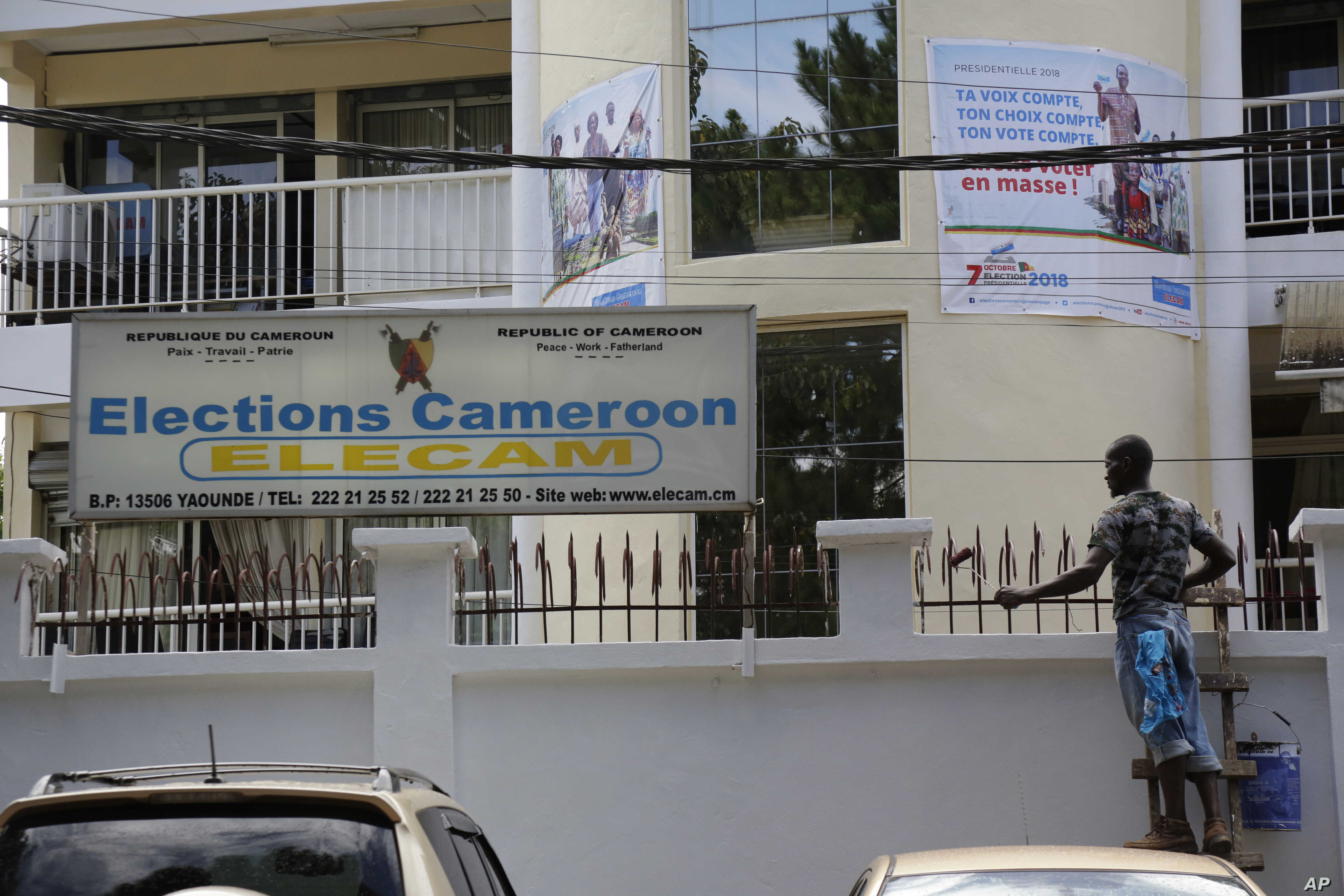 Cameroon's Election Body Reviewing Petitions to Cancel