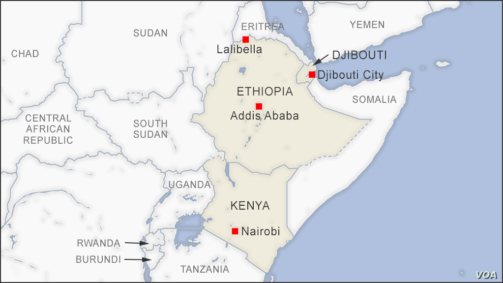 Macron's trip to Africa will include stops in Djibouti, Ethiopia and Kenya