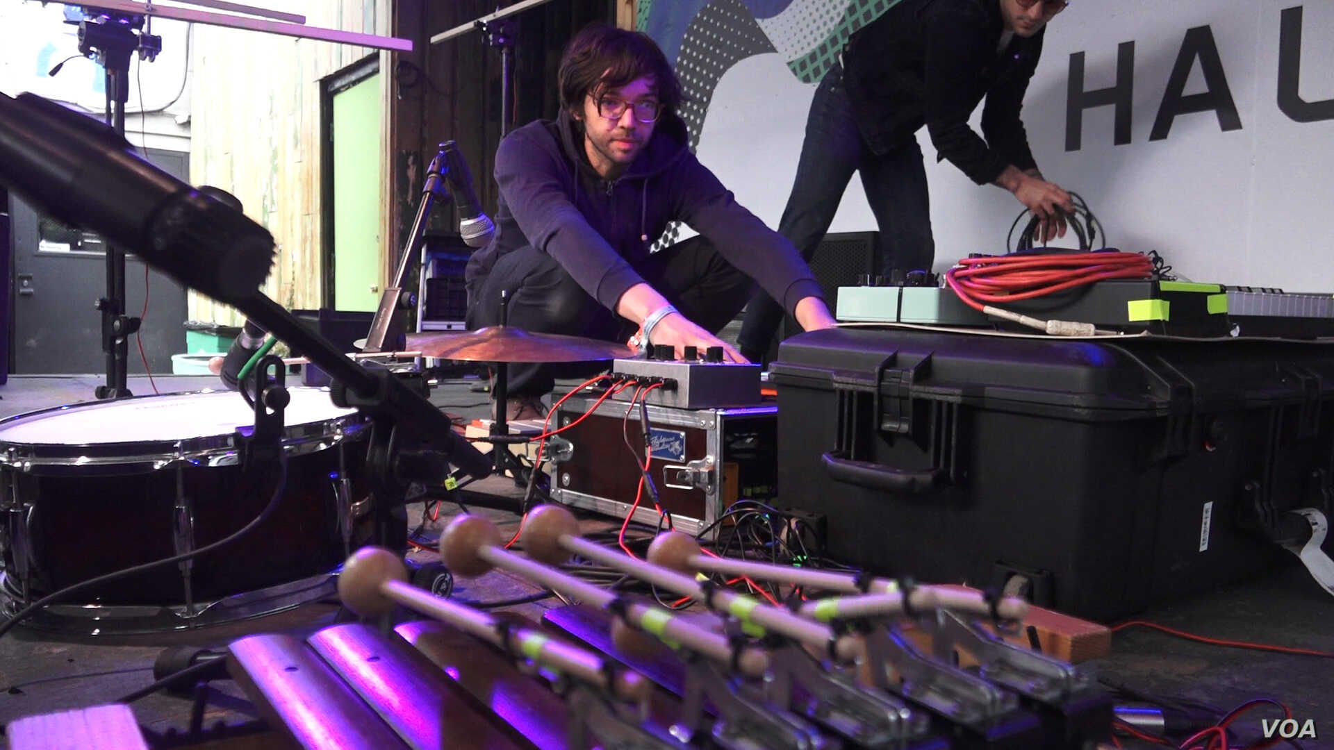 German Band Works in Concert With 'Robotic' Instruments to