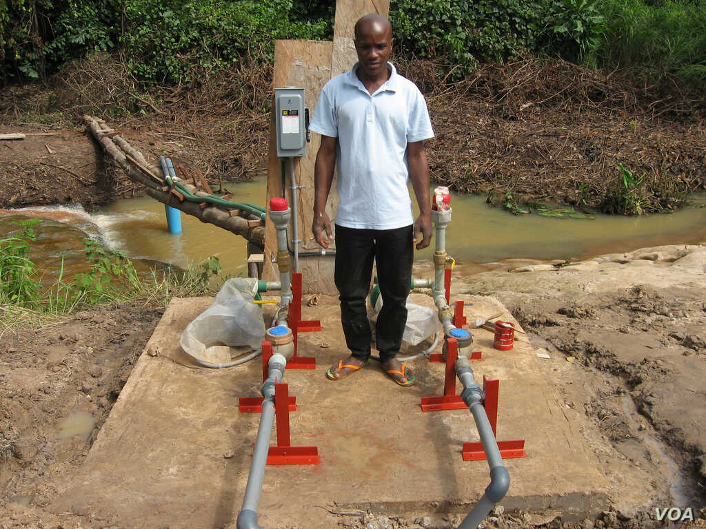 Solar powered irrigation has transformed the lives of people in Benin (Courtesy SELF)