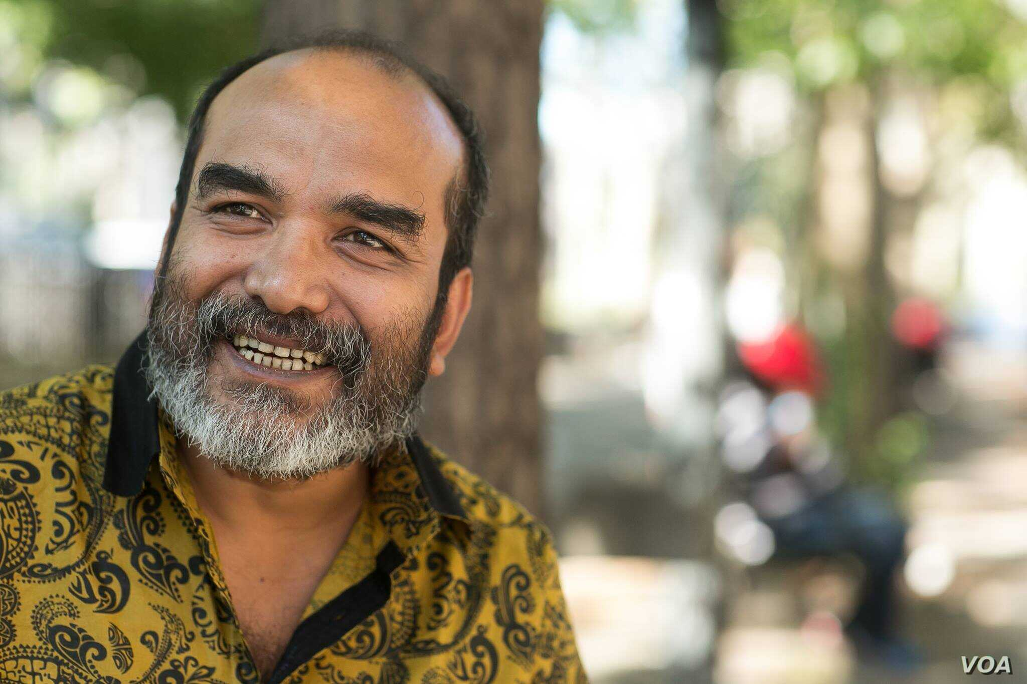 Mahbub Leelen, co-founder of Dhaka's Shuddhashar Publishing House, which published many books authored by Avijit Roy, in New York. Leelen fled Bangladesh closing down the publishing house in Dhaka after his co-publisher escaped a fatal attack from ...