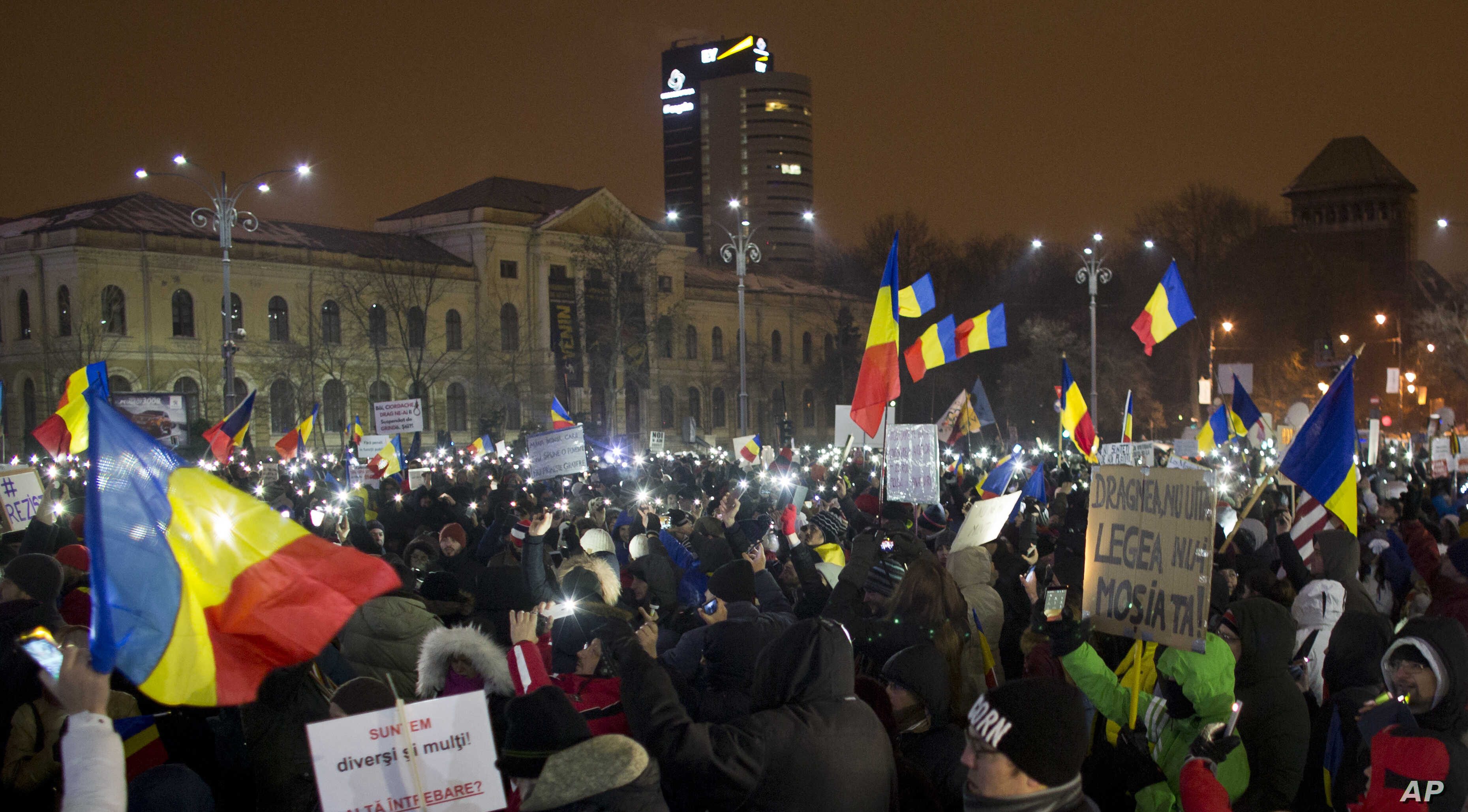 2017–2019 Romanian protests