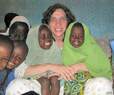 Dr. Laura Stachel helped develop the 'solar suitcases' that are now used in nine countries.