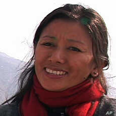 Tenzin Chokey of the Tibetan Youth Congress.
