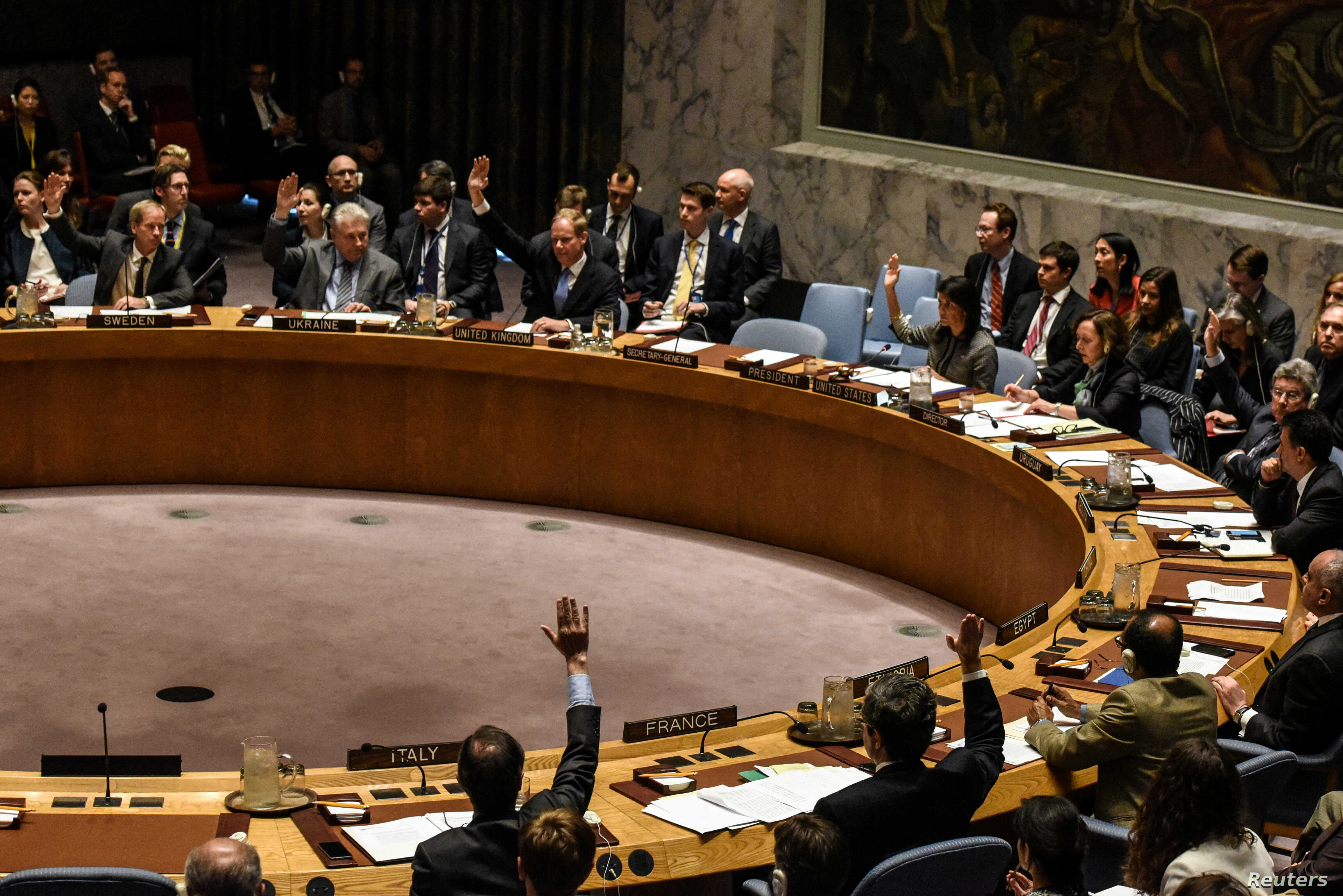 UN Security Council Backs W  Africa Force to Fight Sahel