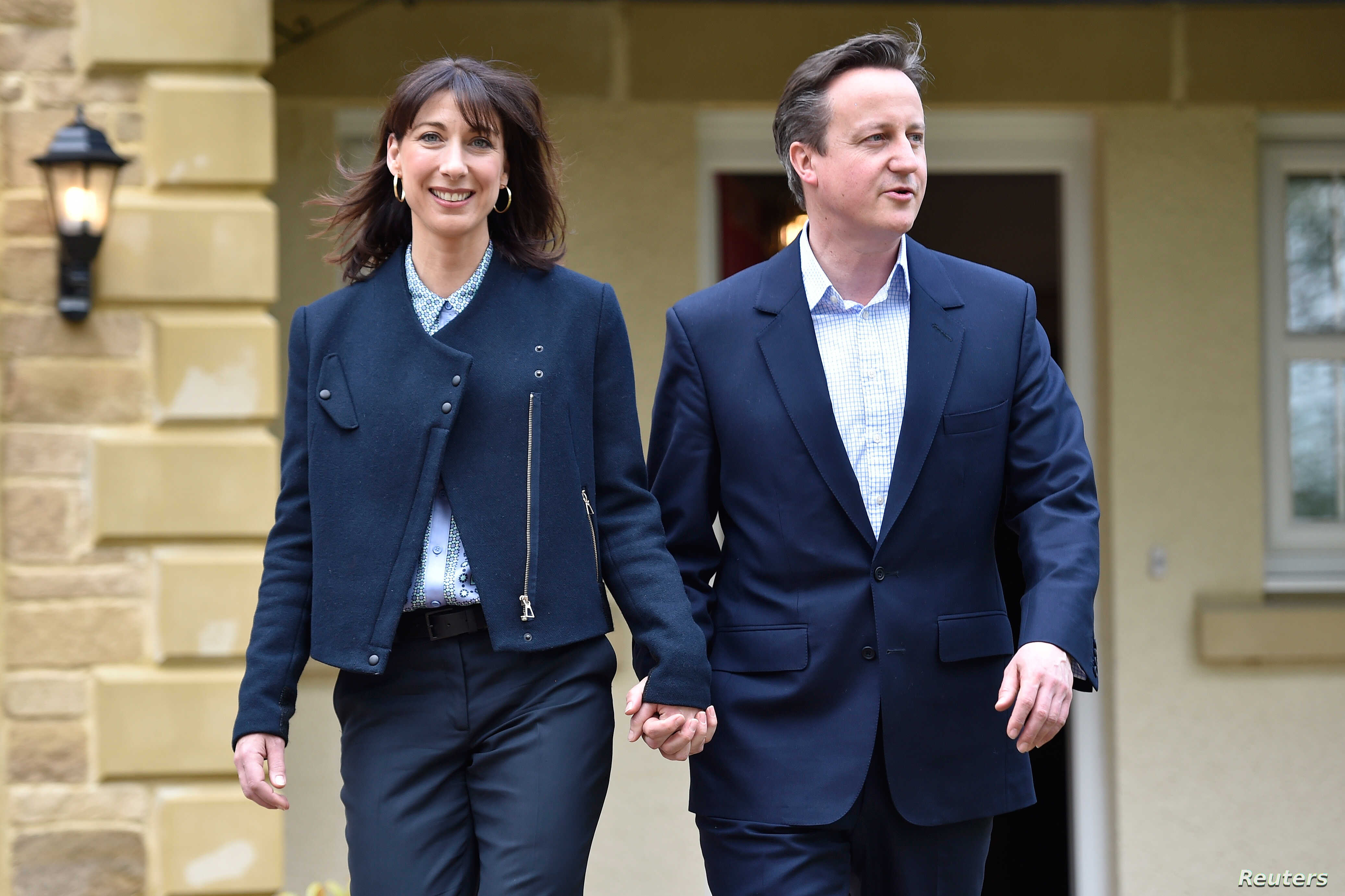 On Eve Of British Pm Camerons Visit >> Britons Expect Hung Parliament From Thursday S Election
