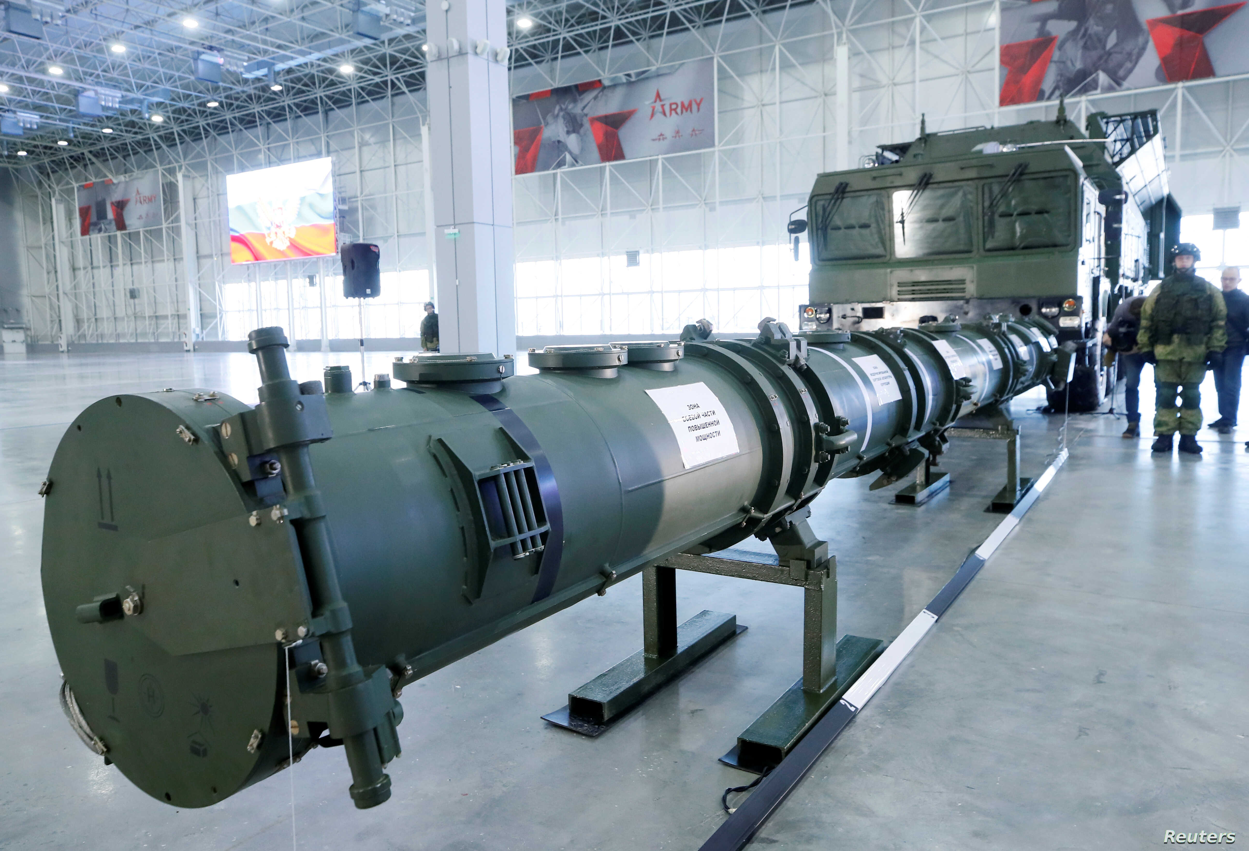 Russia Presents Info on Missile US Says Violates Pact   Voice of