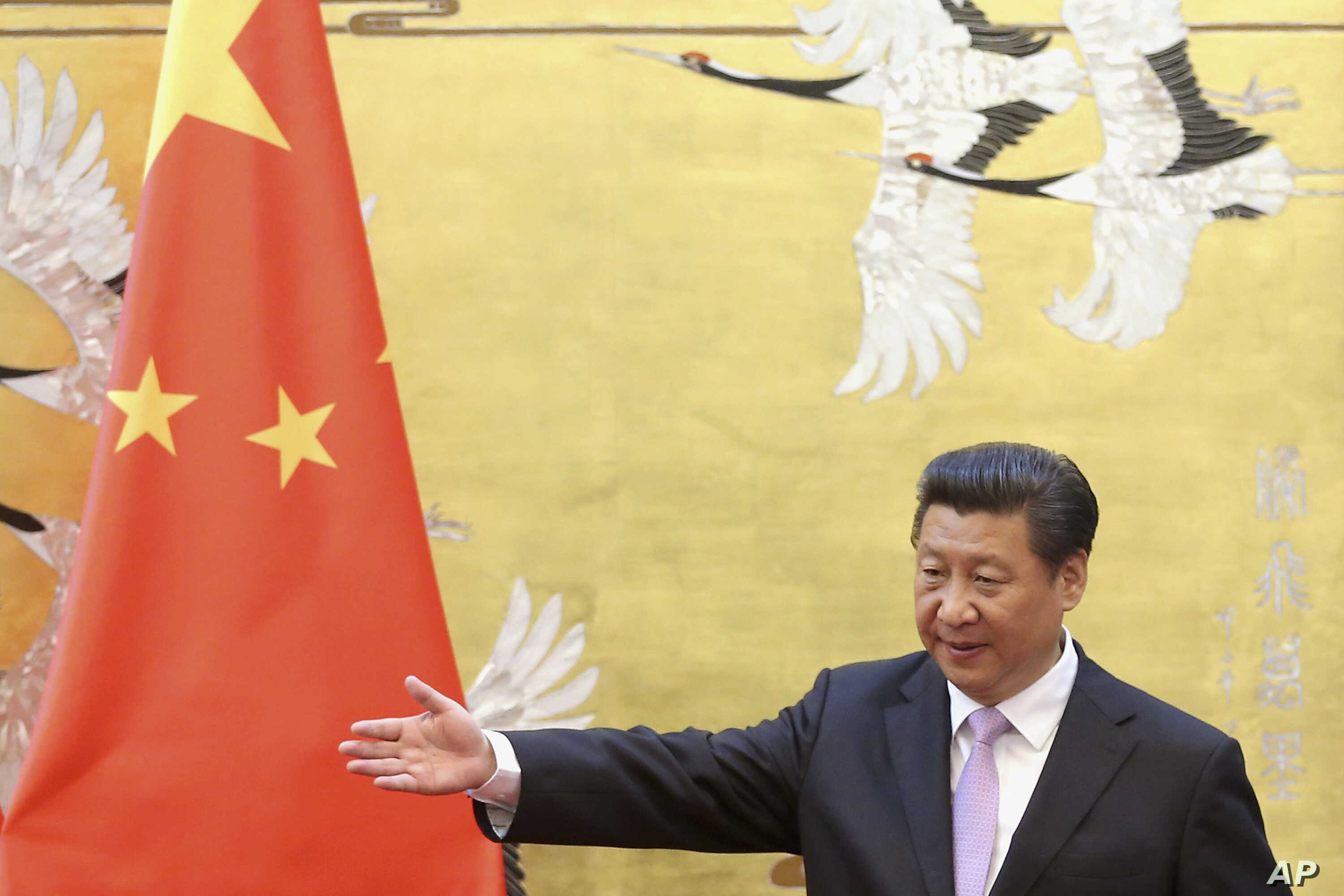 FILE - Chinese President Xi Jinping  in Beijing, China, March 31, 2015.