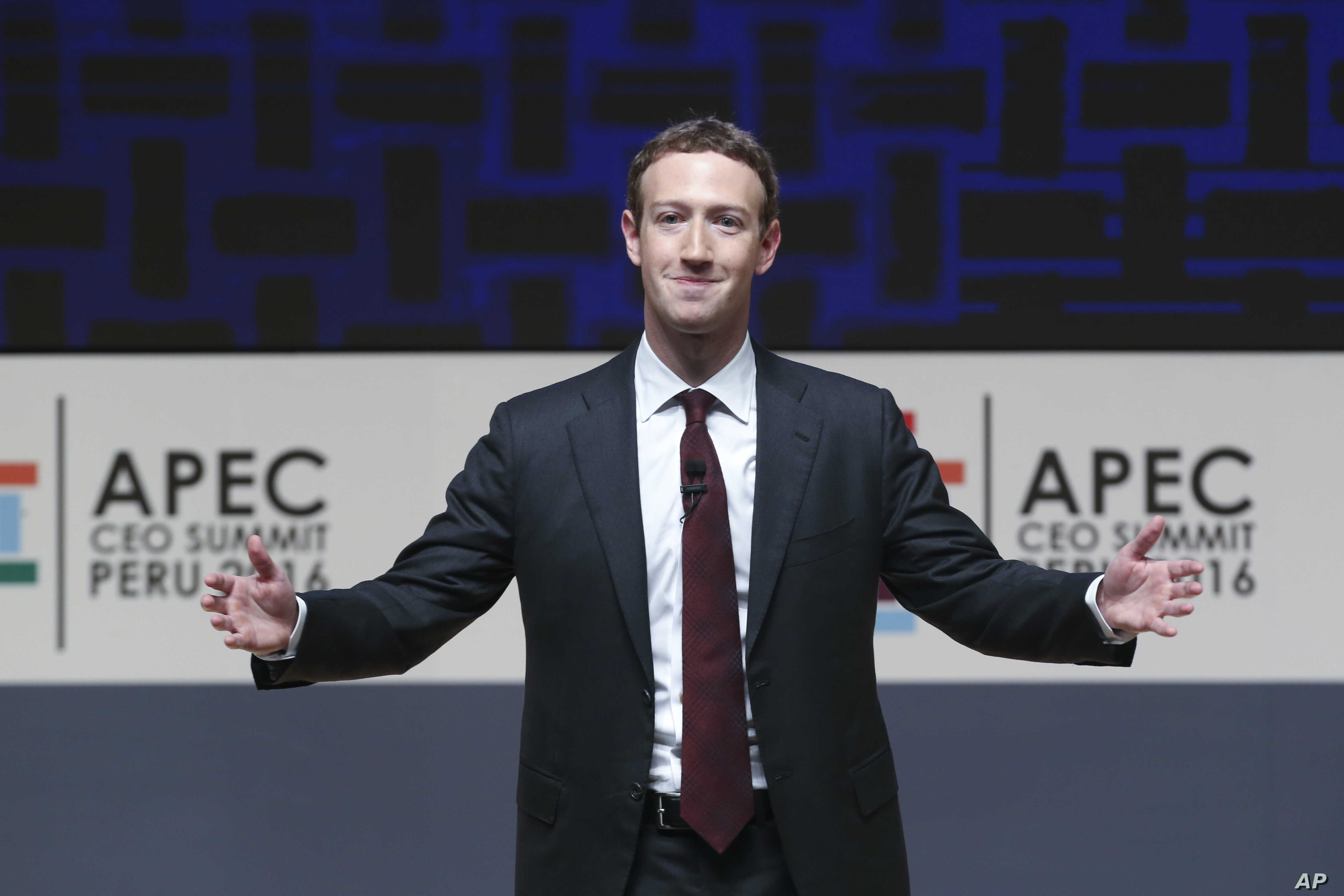 Zuckerberg Pushes Internet Connectivity in Address to World Leaders