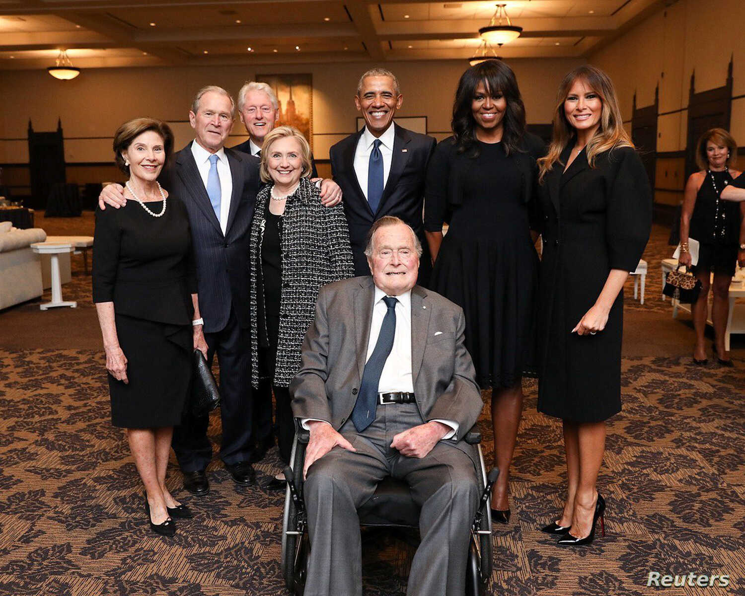 Former President George H W  Bush Dies: A Life of Commitment to US