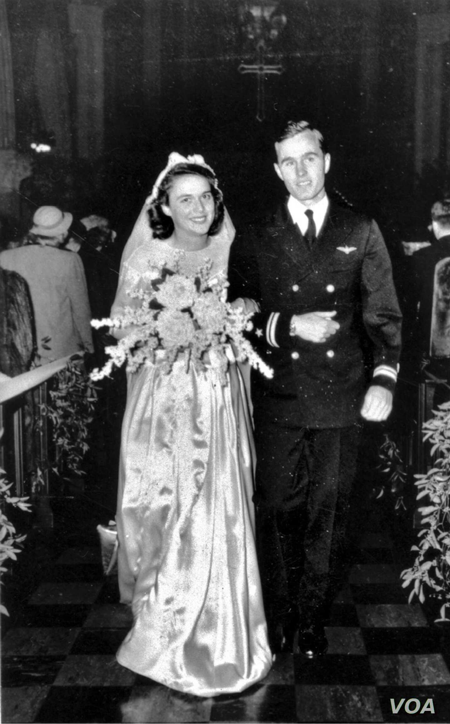 George H.W. Bush Wedding
