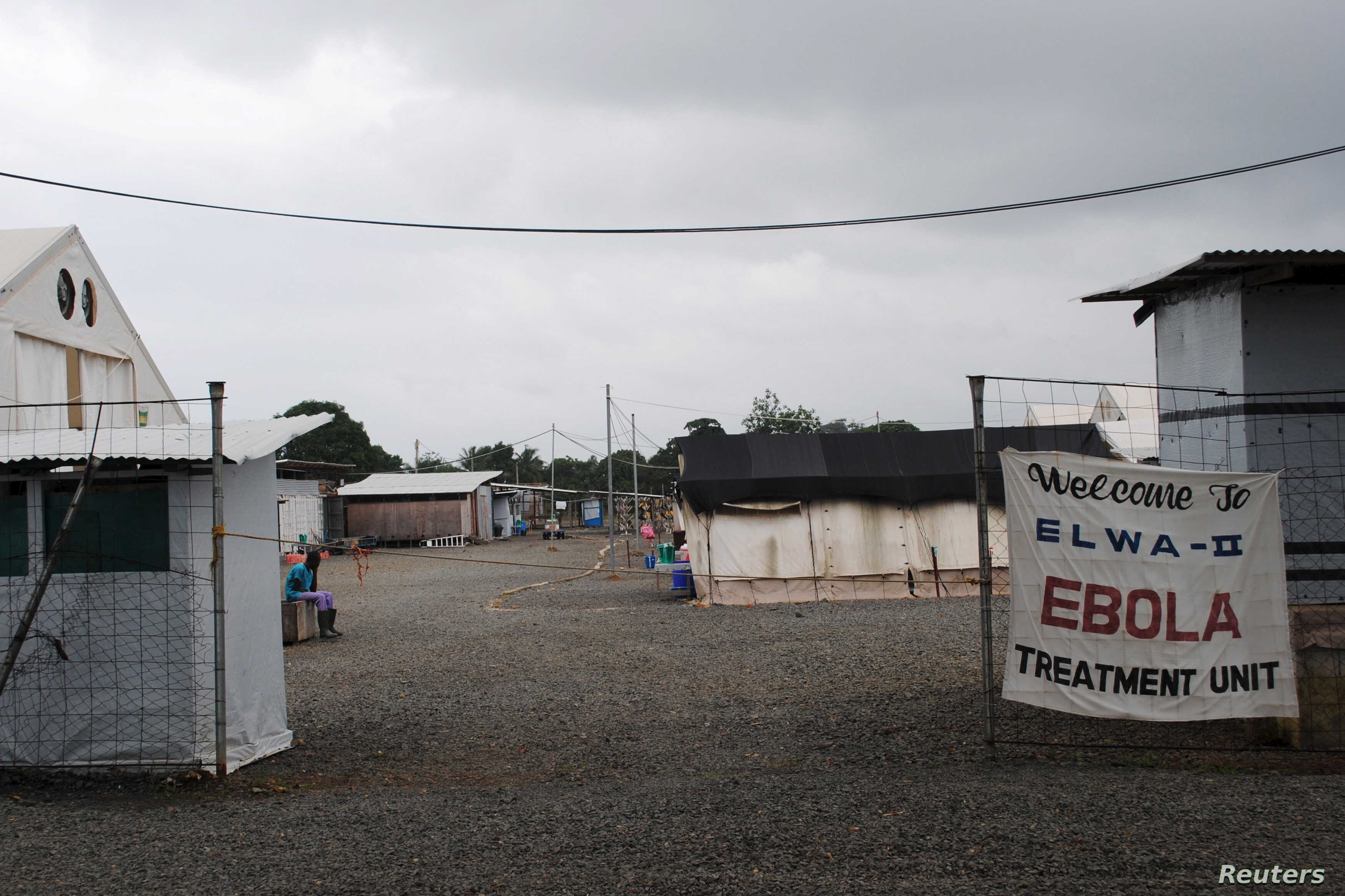 FILE - The Ebola virus treatment center in Paynesville, Liberia, July 16, 2015. The winner of 'Integrity Idol' has pledged to use his prize money to train health care workers in Liberia, which is still reeling from the ebola crisis.