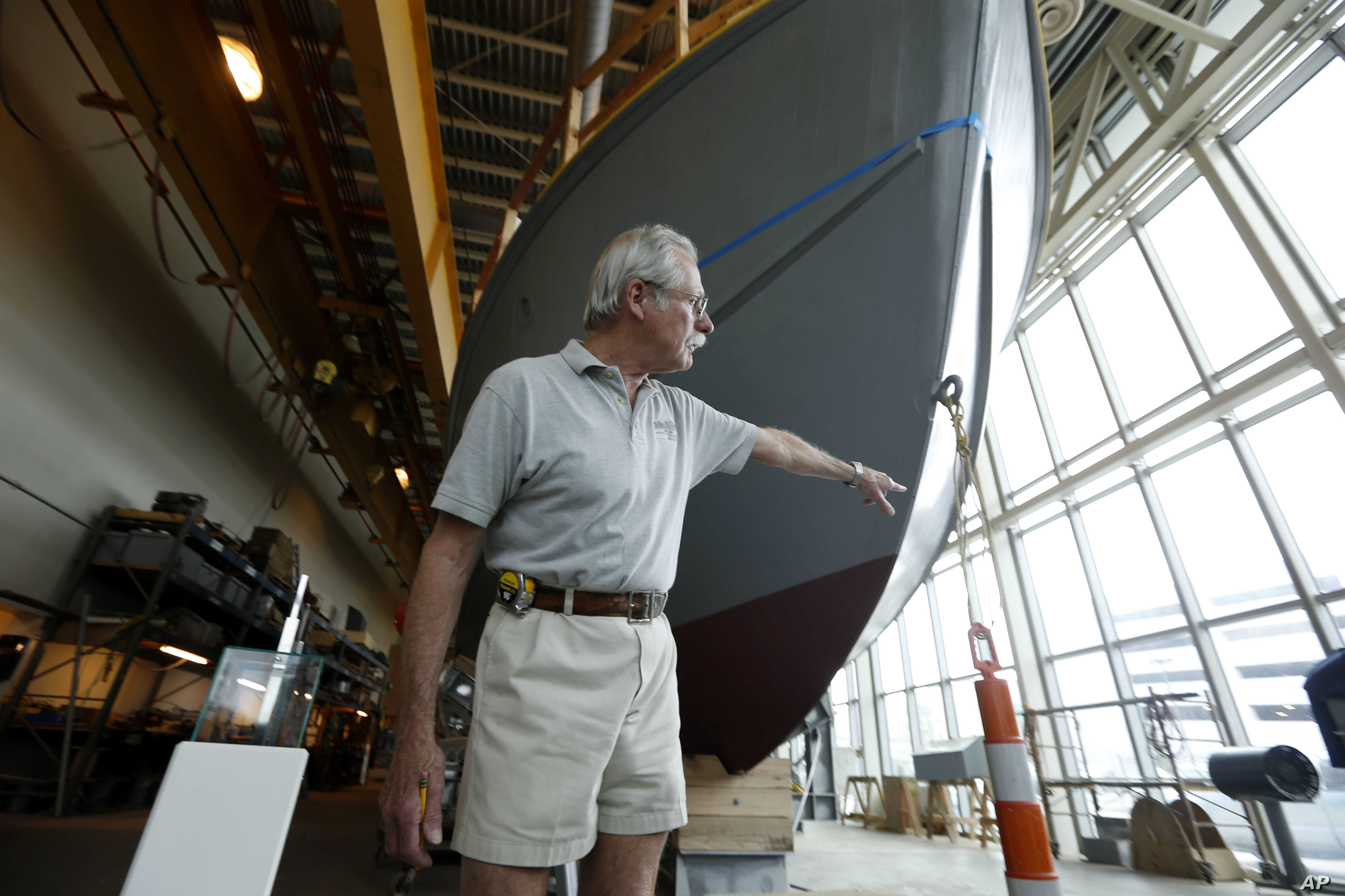 WWII Museum's PT Boat Nearly Restored | Voice of America