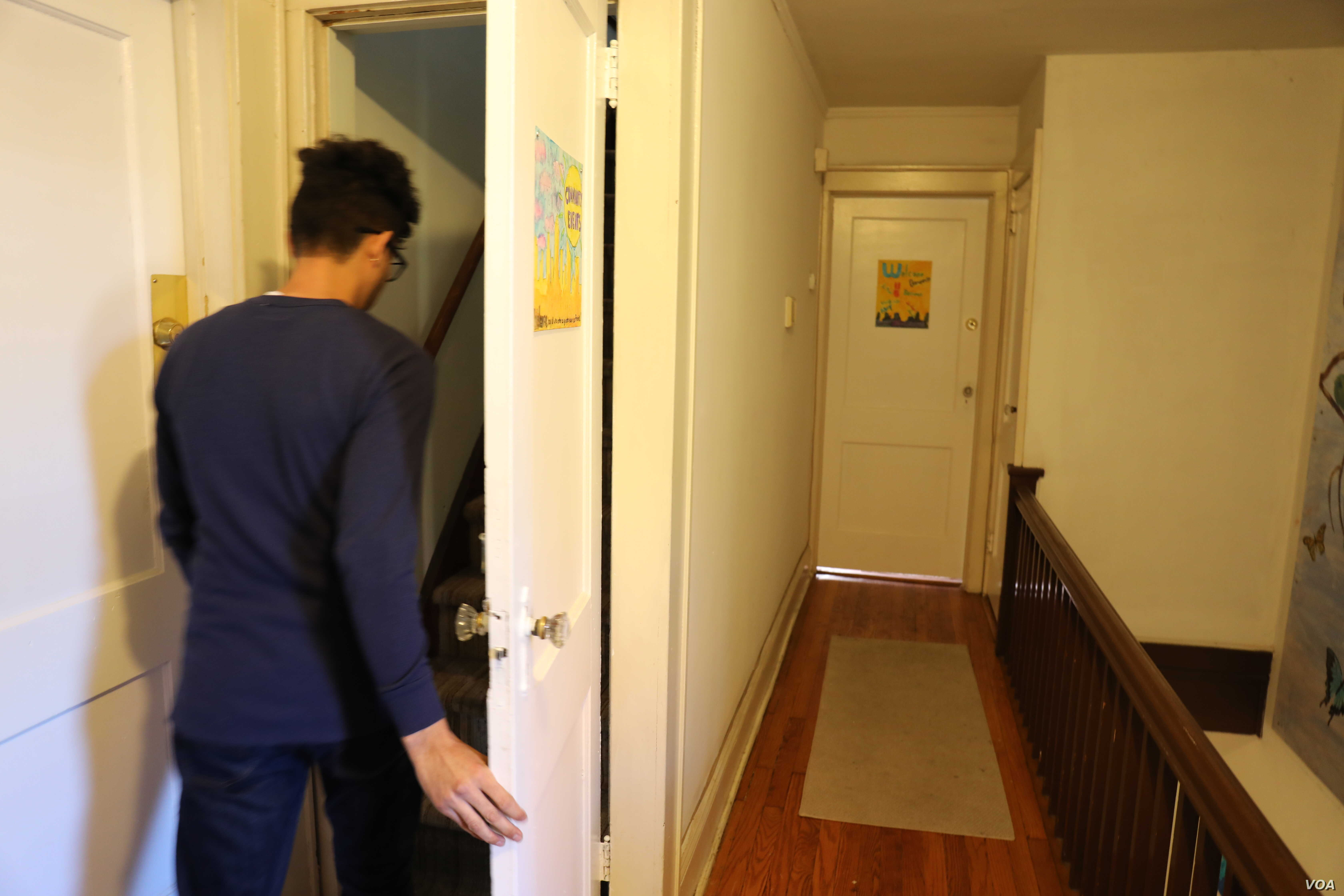 Jose, who did not want to use his real name, lives in halfway house in New Jersey. The place is a temporary home for asylum seekers released from immigration detention. About five immigrants live in the house while they rebuild their lives and wait f...