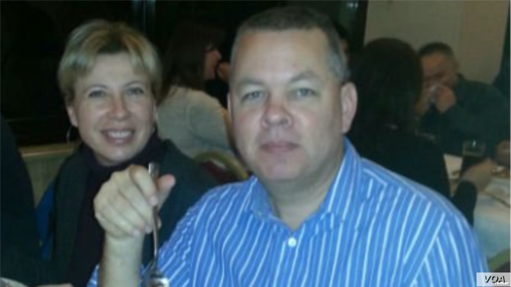 FILE - Andrew Brunson, an American who has been a Protestant missionary in Turkey for more than 20 years, is shown with his wife, Norine Brunson, in this undated photo.