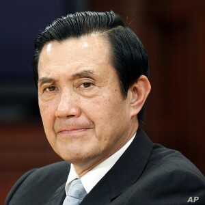 Taiwan's President Ma Ying-jeou during a news conference at the Presidential Office in Taipei, February 6, 2012.