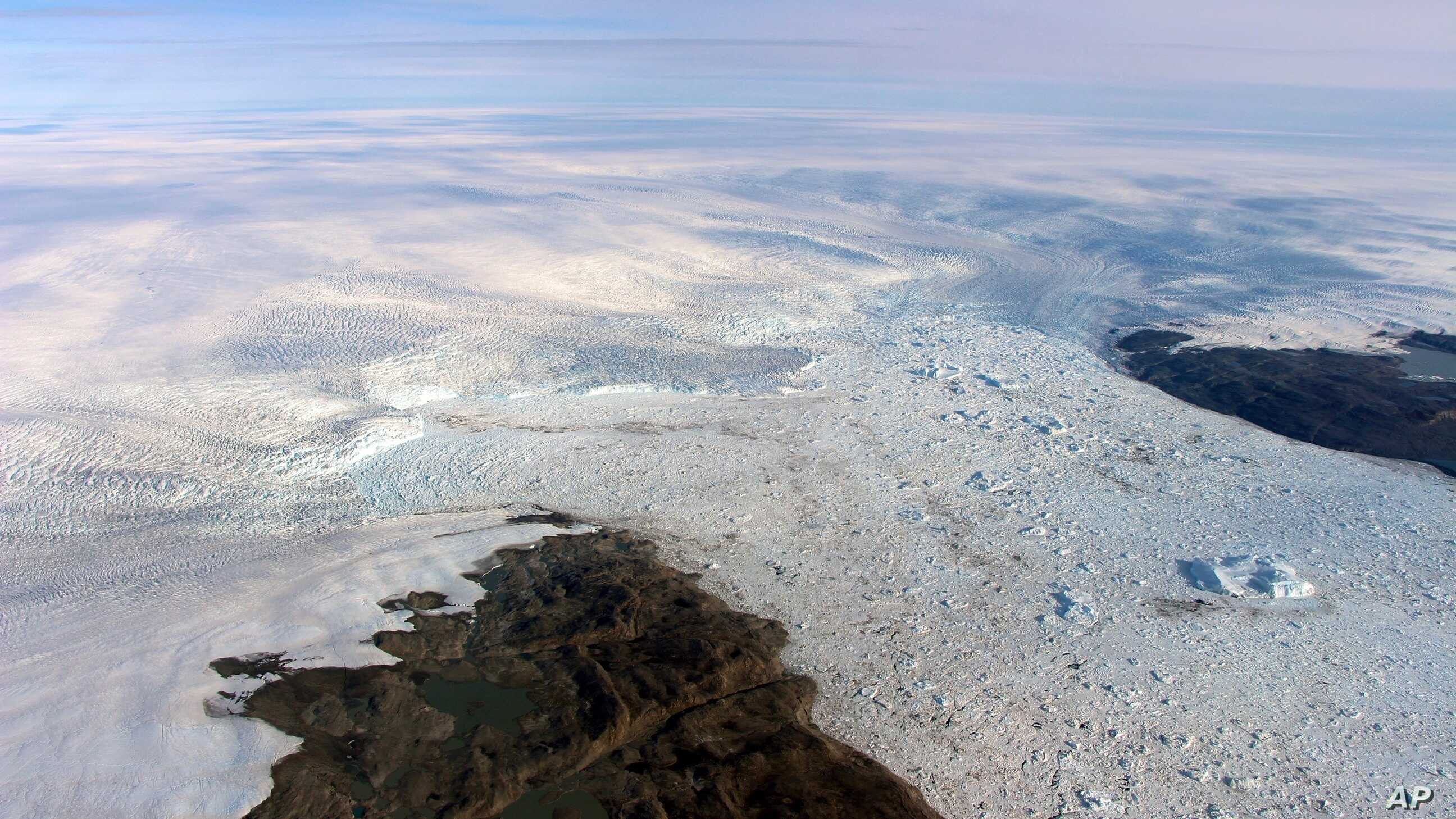 U Turn Key Melting Greenland Glacier Growing Again