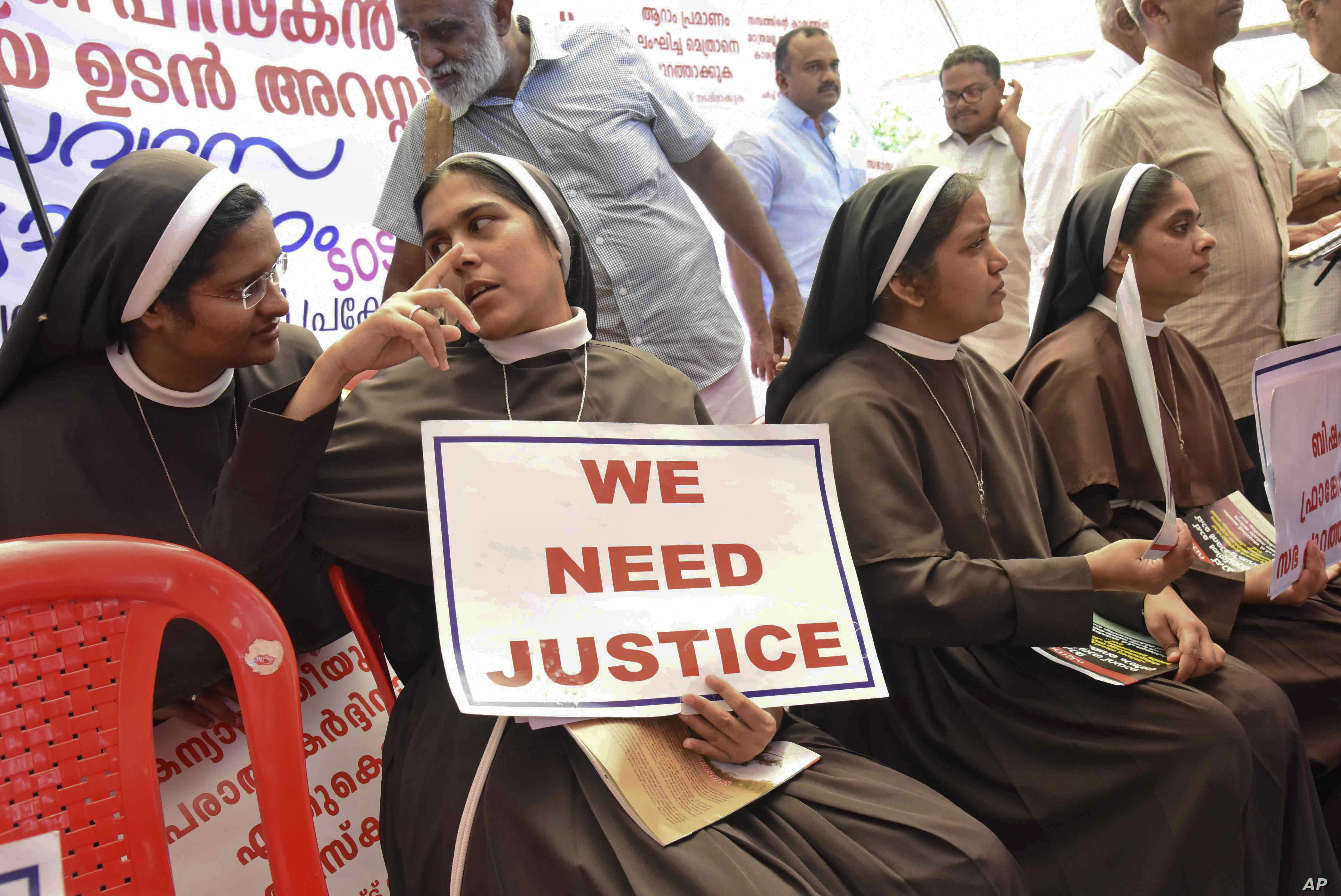 India's Hidden Years of Nuns Abused by Priests   Voice of America