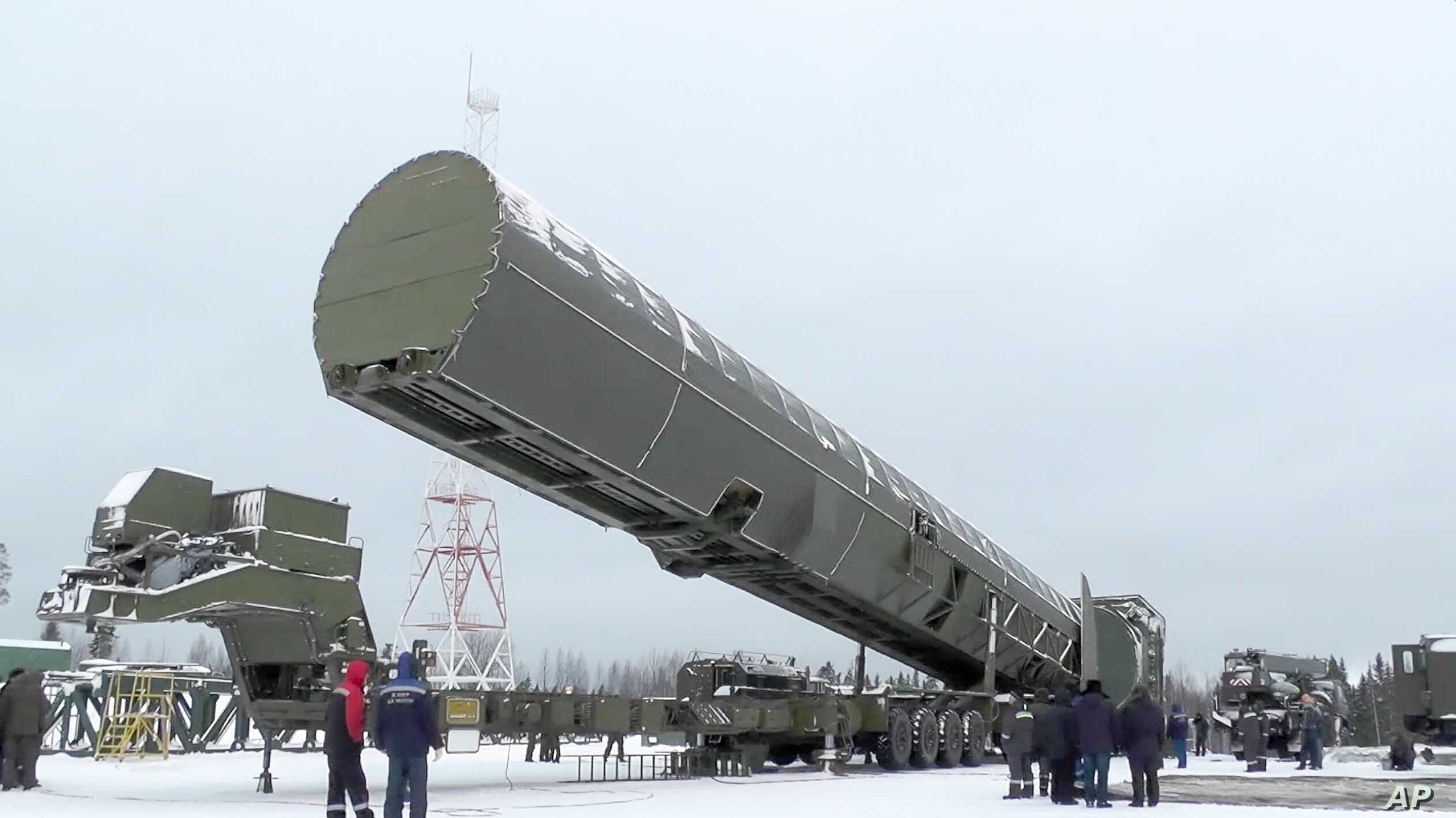 Russia Conducts Another Test of ICBM Sarmat | Voice of America - English