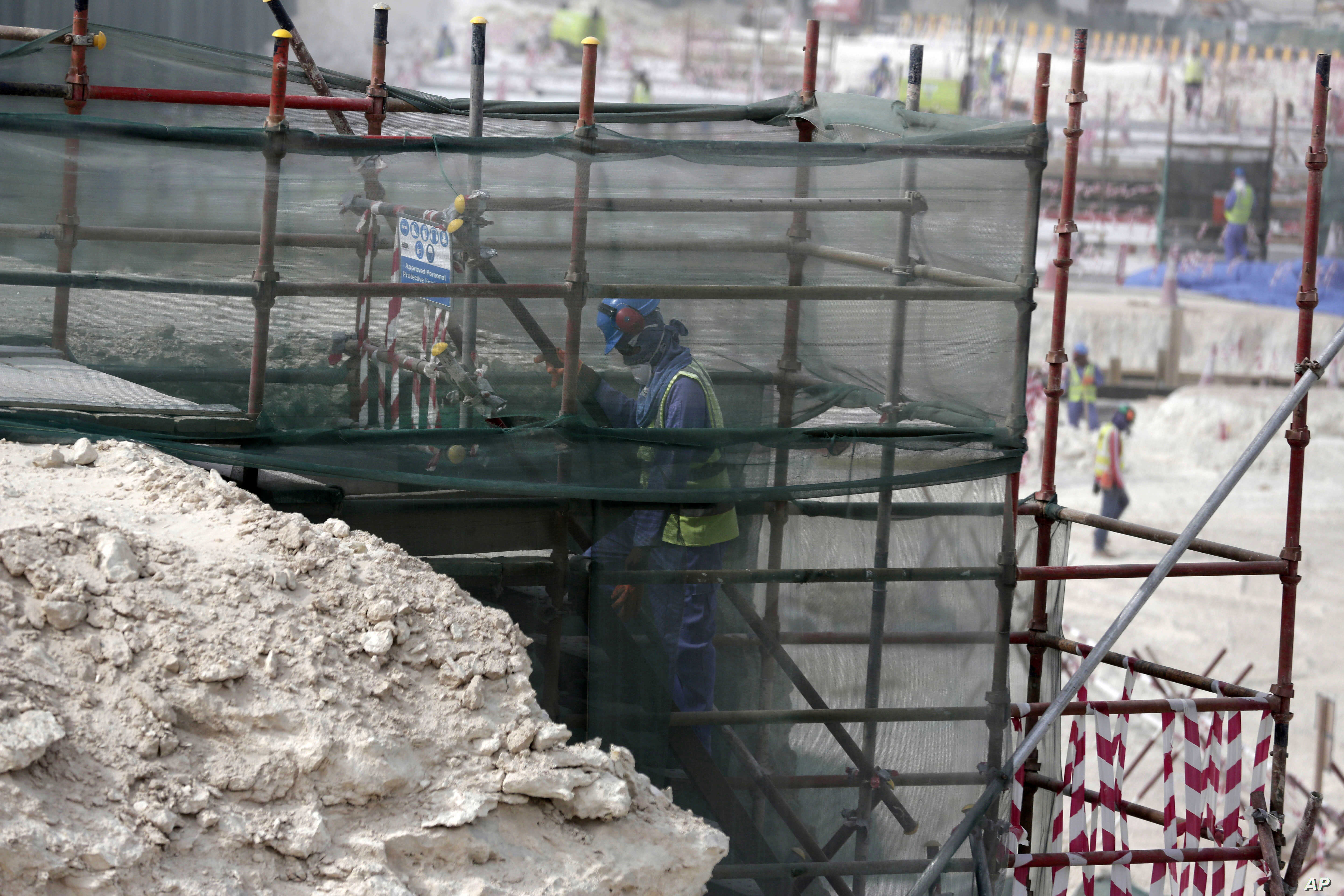 Report: Qatar World Cup Workers Pay Recruitment Fees, Work