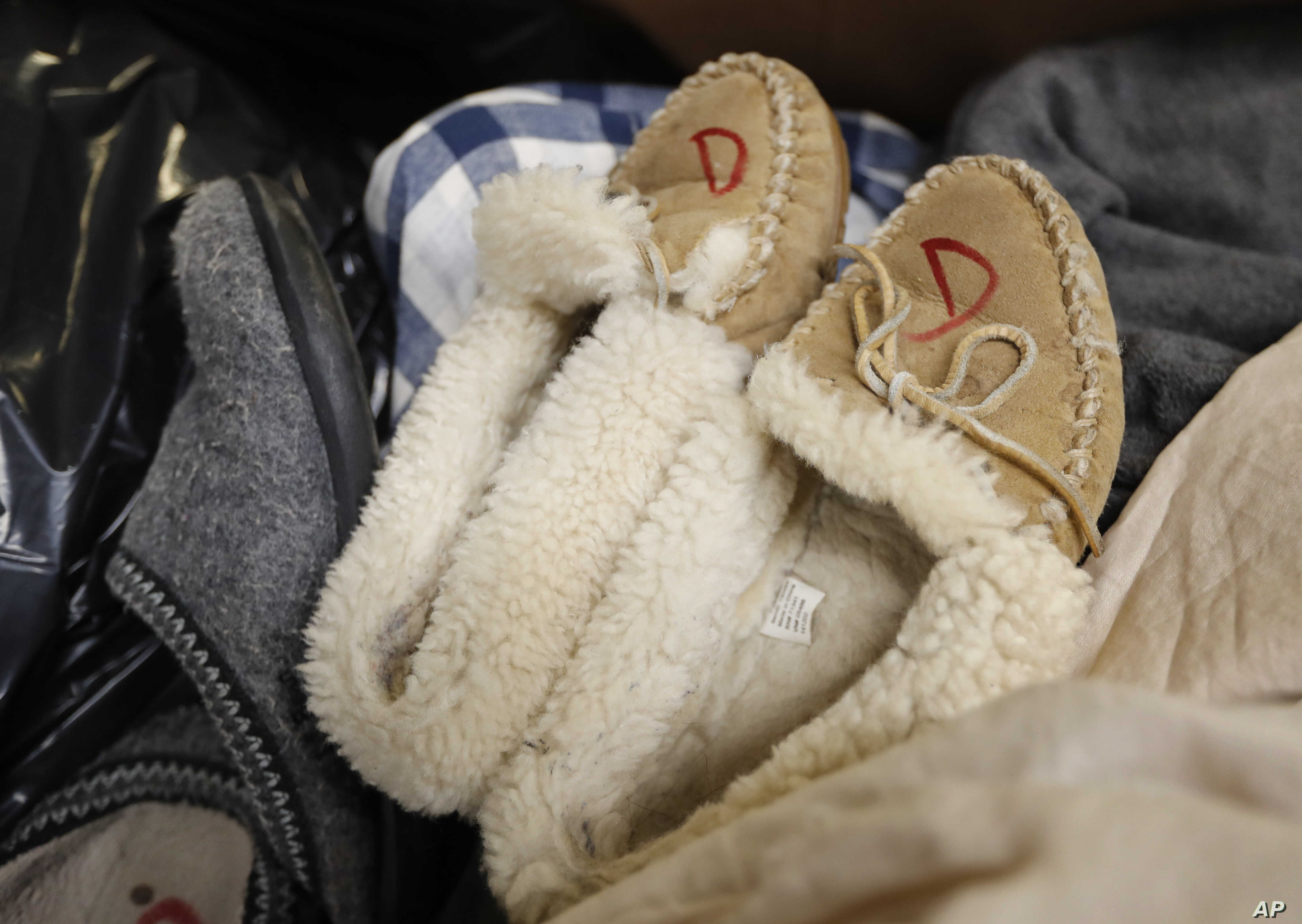 FILE — Slippers and other cozy items are expected to be hotsellers this holiday season.