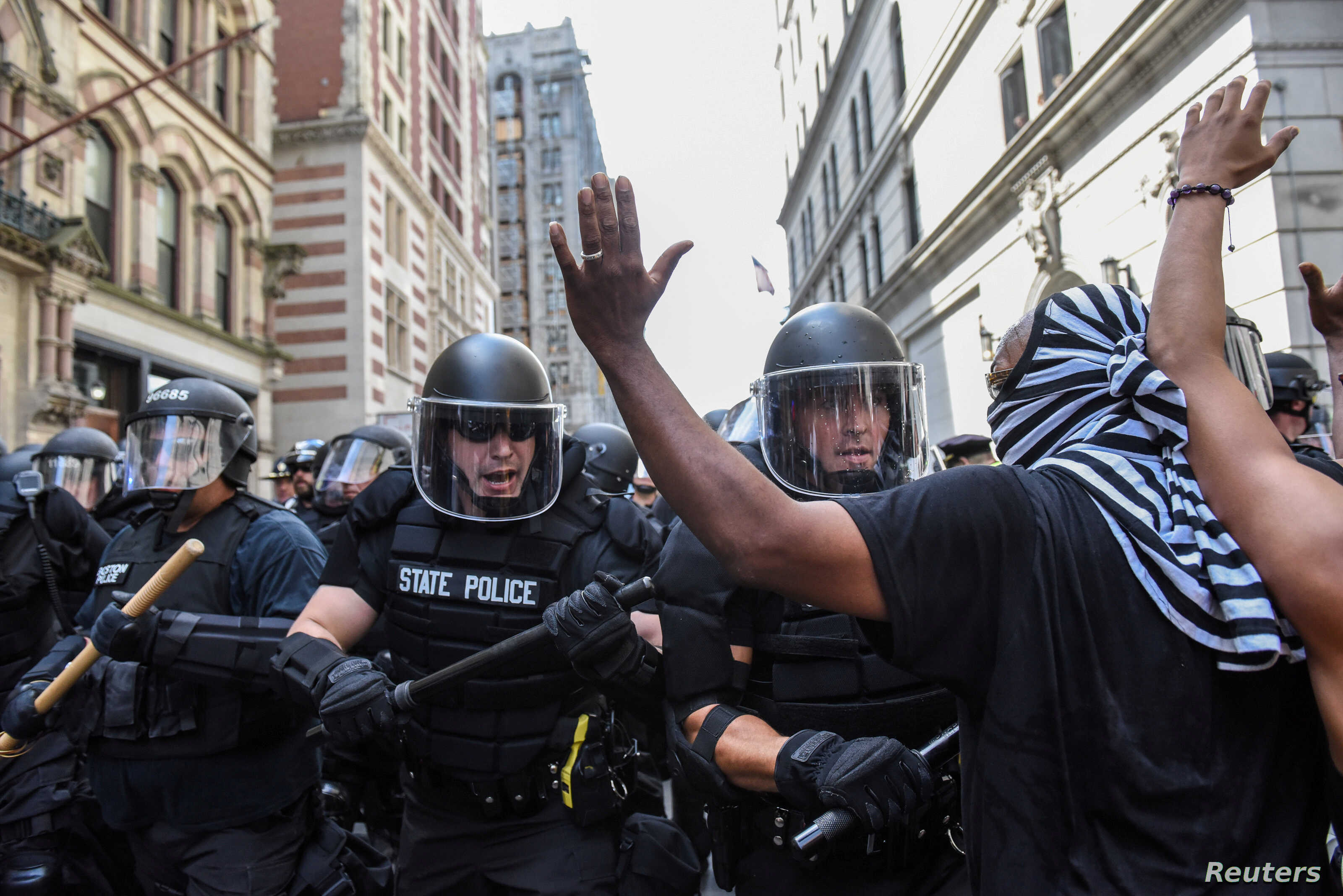 33 Arrested During Boston Rally Protest Heading to Court
