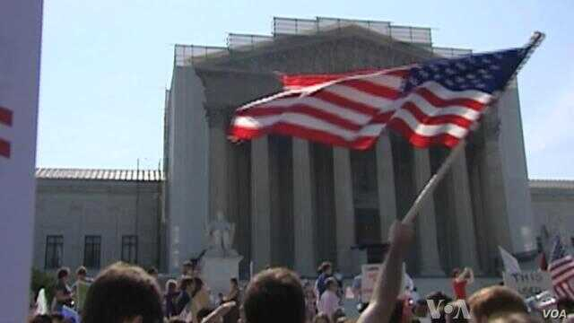 Supreme Court Strikes Down Federal Gay Marriage Inequities