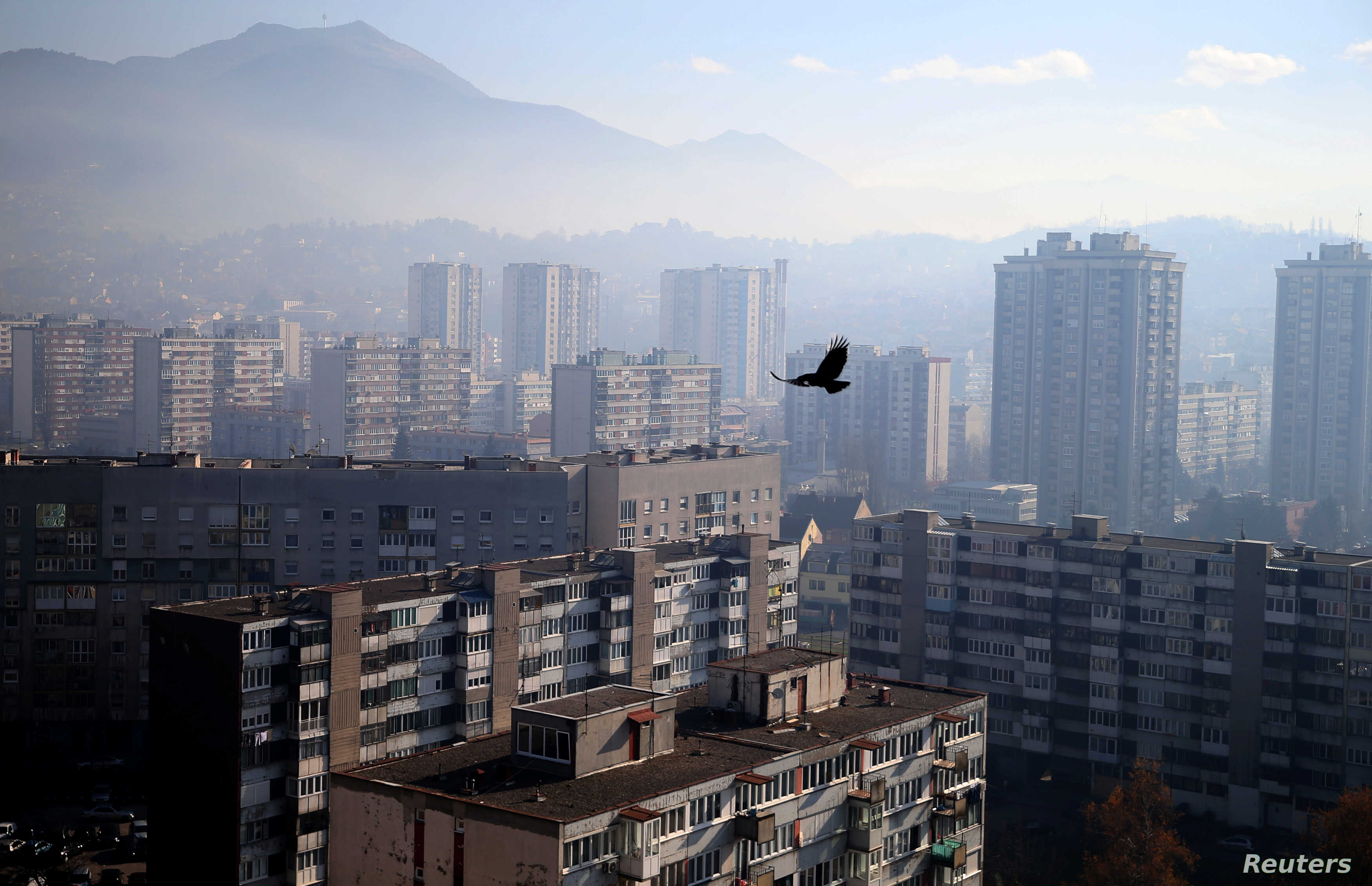 Public Anger as Air Pollution in Western Balkan Cities Worsens