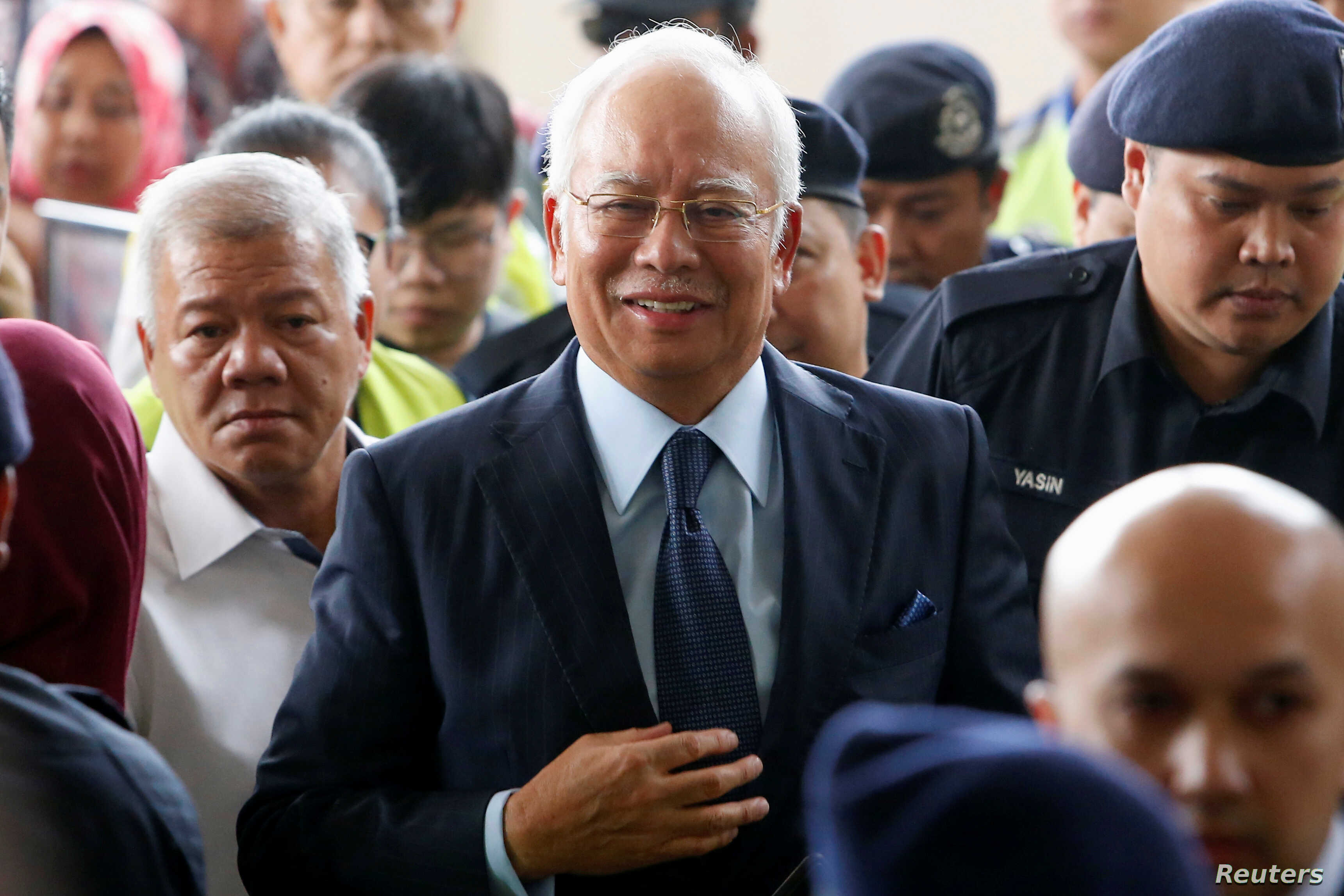 Malaysian Ex-PM Slapped with New Charge Over 1MDB Scandal   Voice of