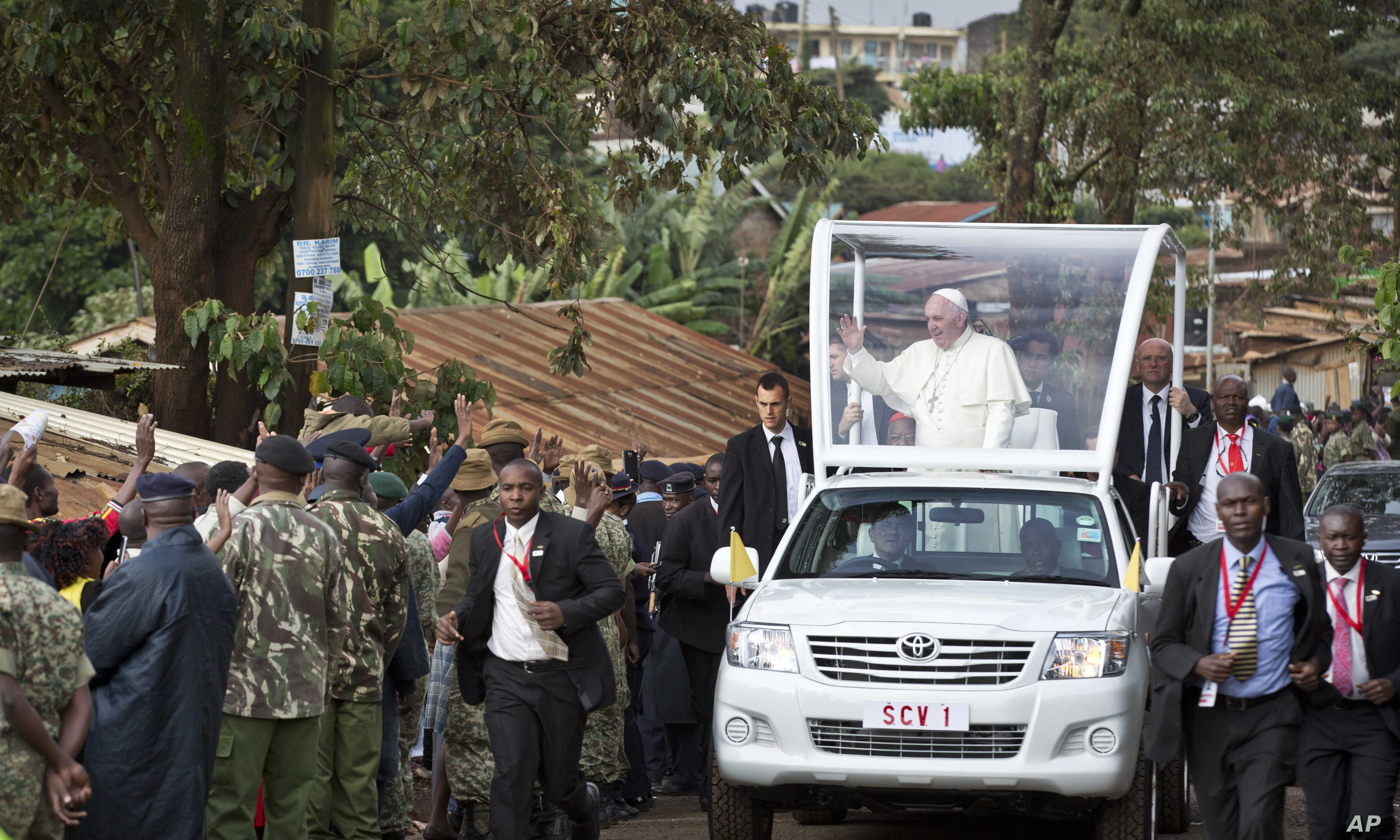 Pope to Young Kenyans: Reject Tribalism | Voice of America - English