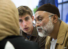 Zaytuna College is offering summer language classes in preparation for its official fall opening. (left to right) David Burkhart and Shahid Bhuihan