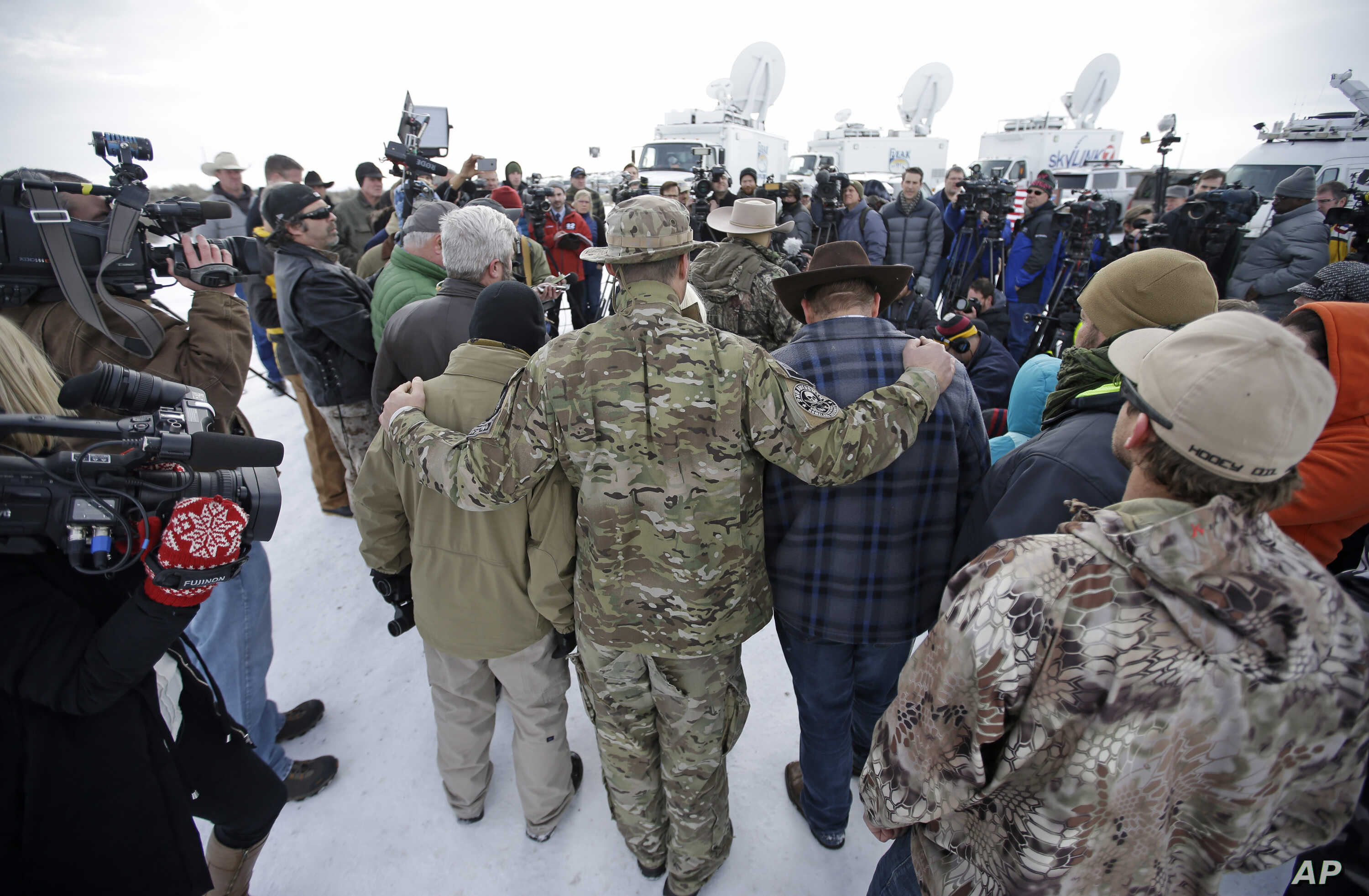 World Media Frame Oregon Standoff in Terms of Race