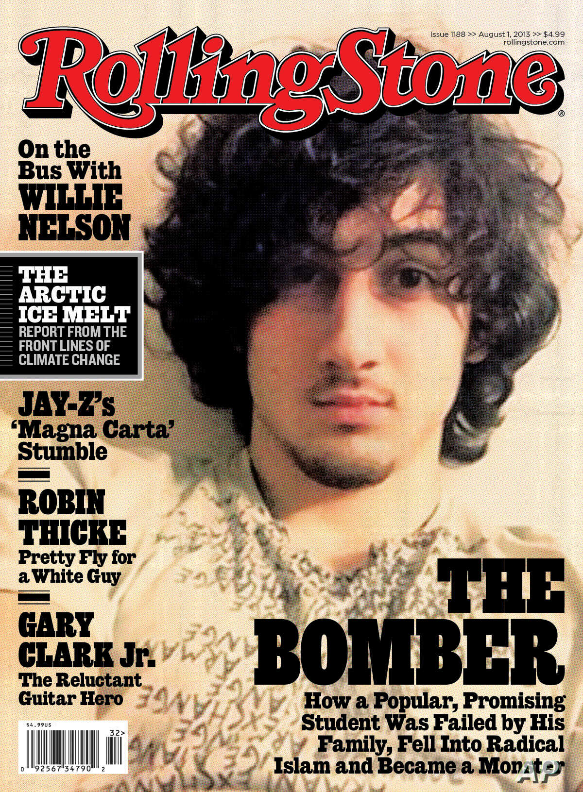 premium selection 93516 84393 Thousands Condemn 'Rolling Stone' Boston Bomber Cover ...