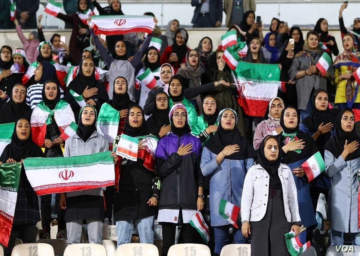 In Rare Move, Iran Lets Some Women Attend Men's Soccer in