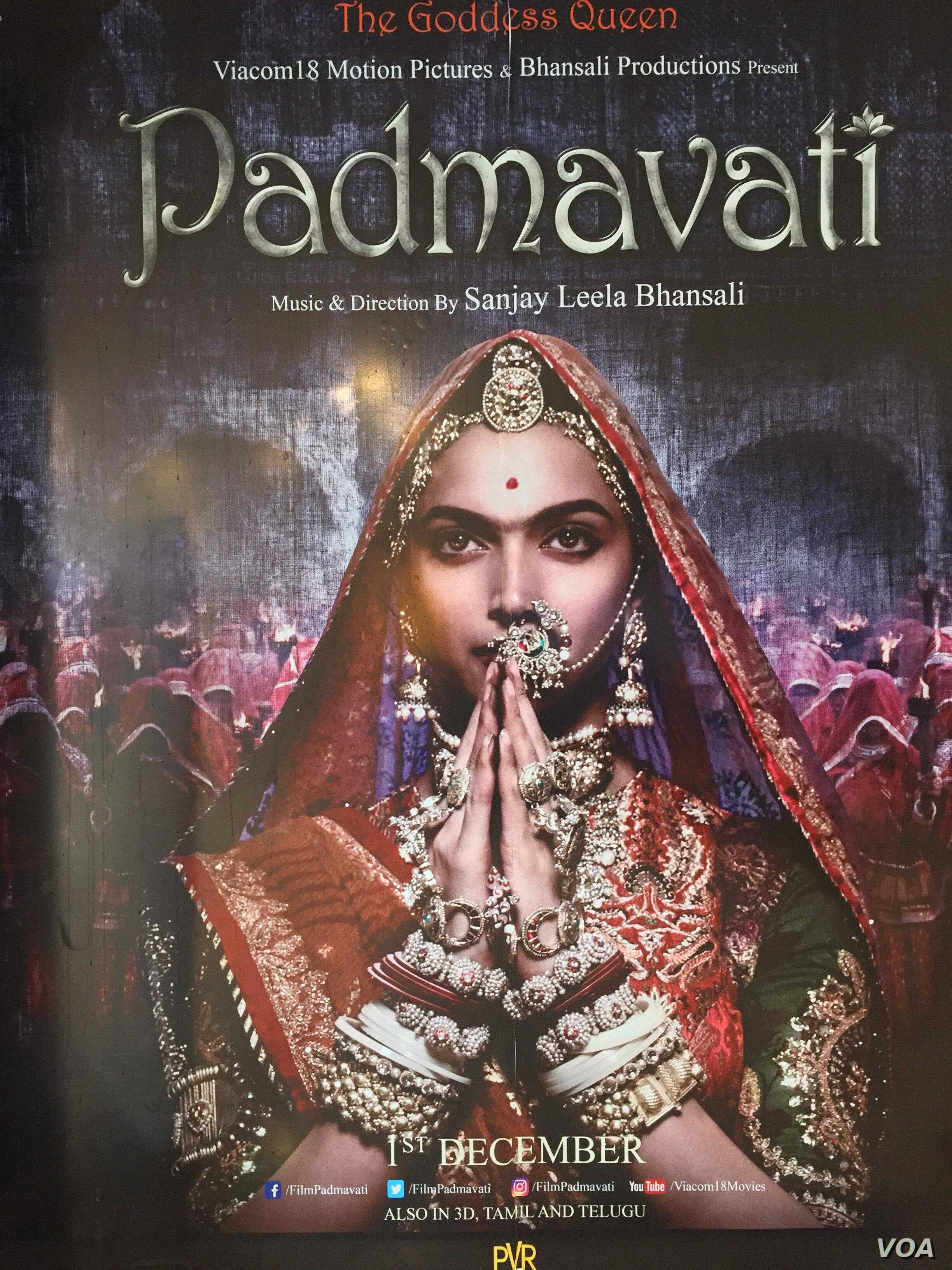 Bollywood Film about Legendary Hindu Queen Embroiled in