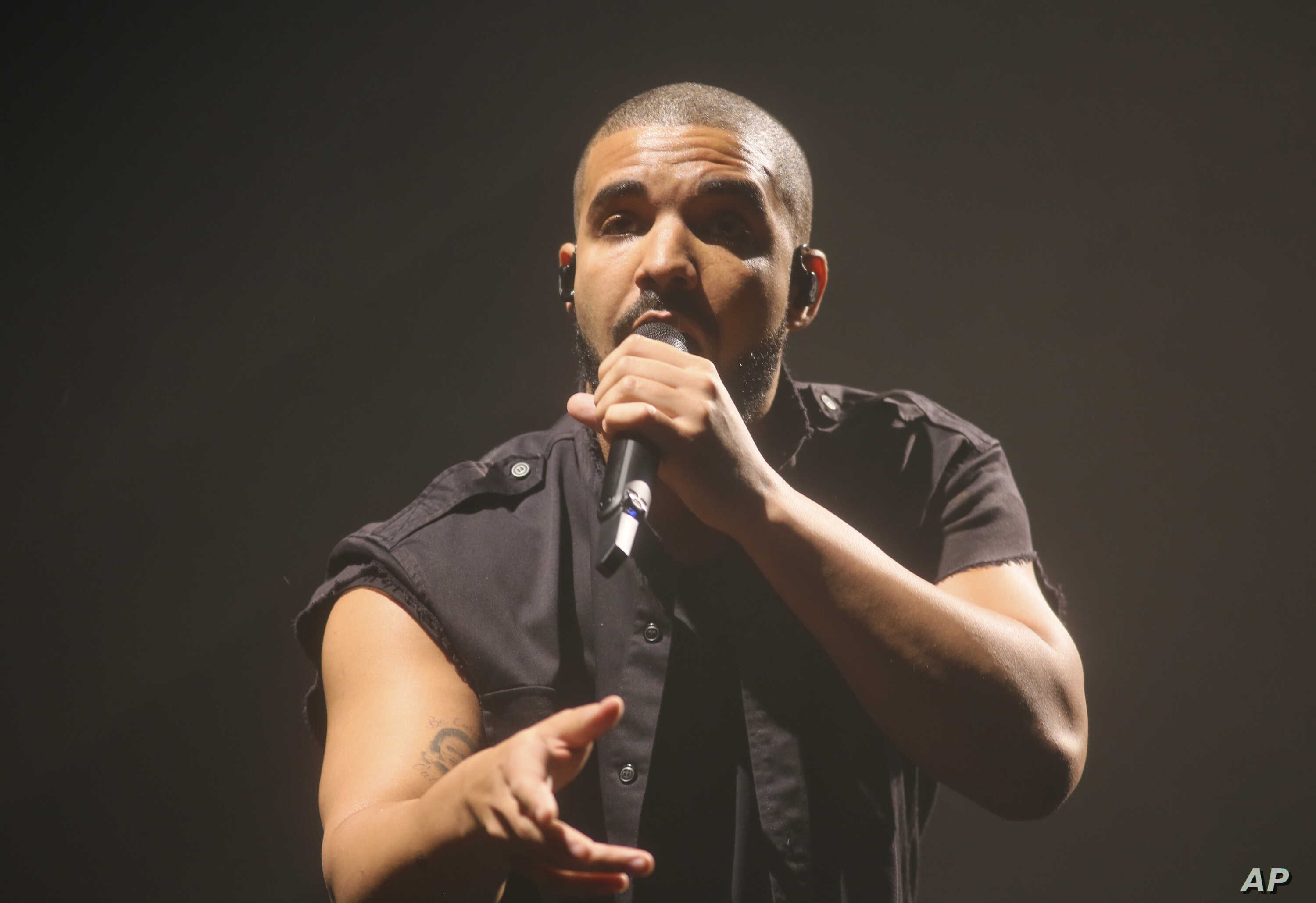 Drake performs at the Austin City Limits Music Festival in Zilker Park on Oct. 10, 2015, in Austin, Texas.