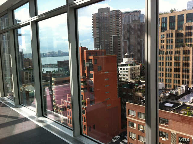 FILE — Penthouse view in New York City, where wealthy renter-occupied households has doubled in the last decade. (Photo by Flickr user Carlos Pacheco via Creative Commons)