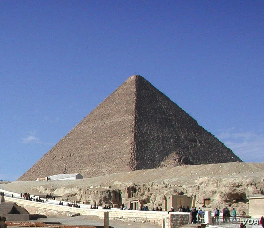 Anomalies Discovered in the Great Pyramid   Voice of America
