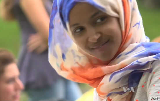 Somali-born IIhan Omar, 34, a former refugee, was elected to the Minnesota state legislature, making her the country's first Somali-American lawmaker.