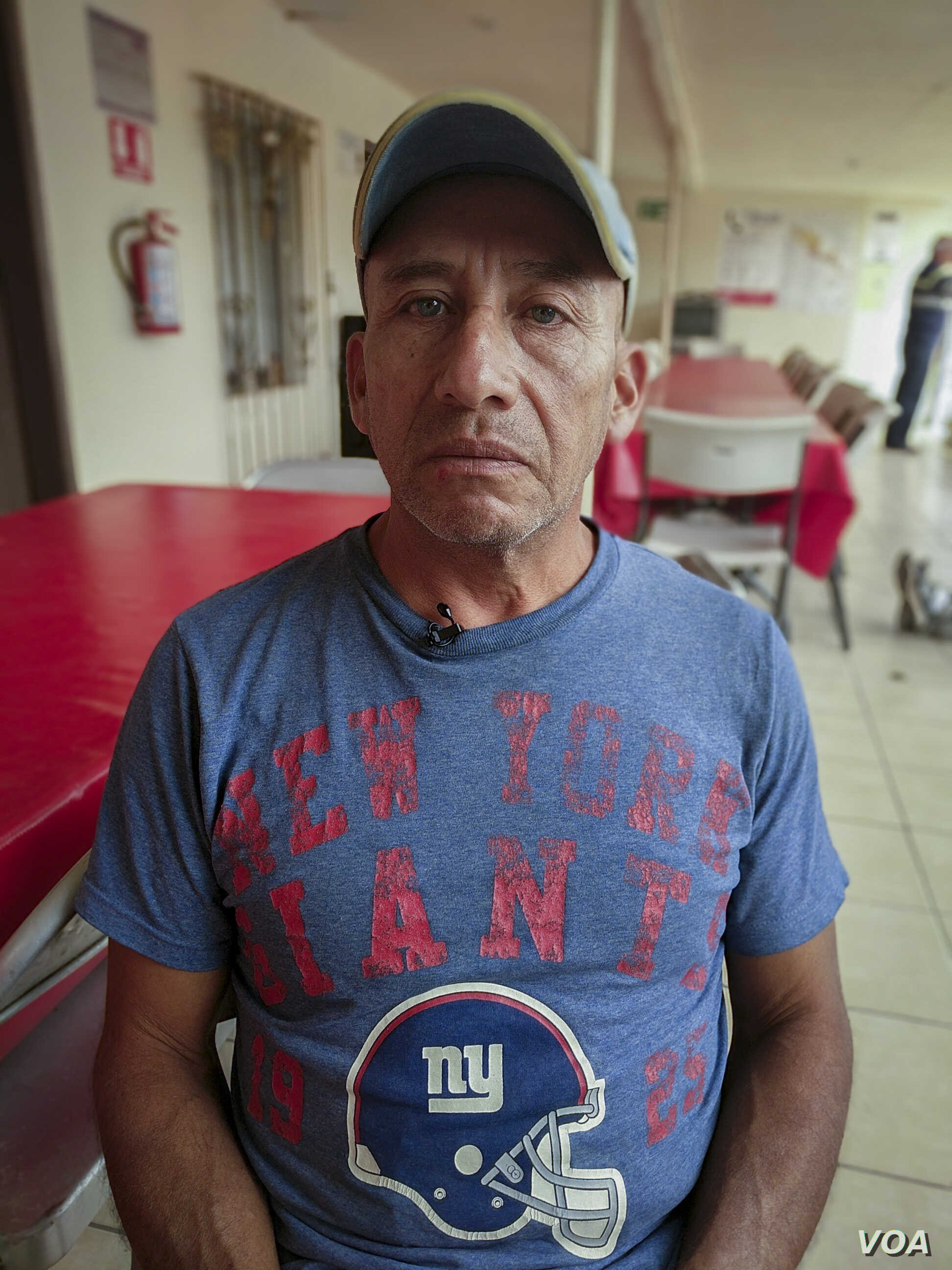 Mario - Mario Hernandez, a migrant from Guatemala, says he escaped threats from the Maras gang in Guatemala. But because of uncertainty in the U.S. asylum process and anti-immigration rhetoric, he has opted to seek a humanitarian visa in Mexico inste...