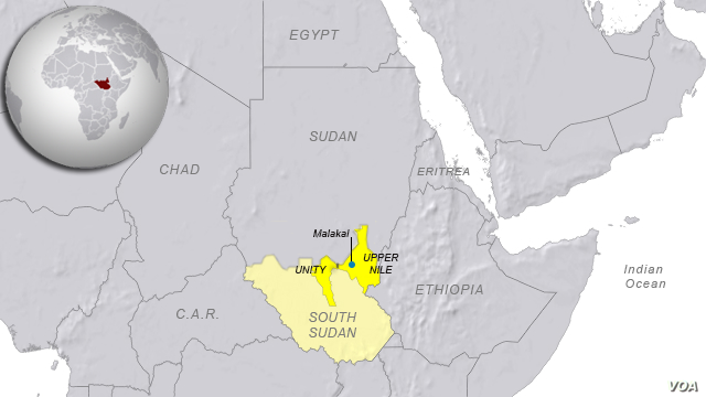 Unity and Upper Nile states, South Sudan
