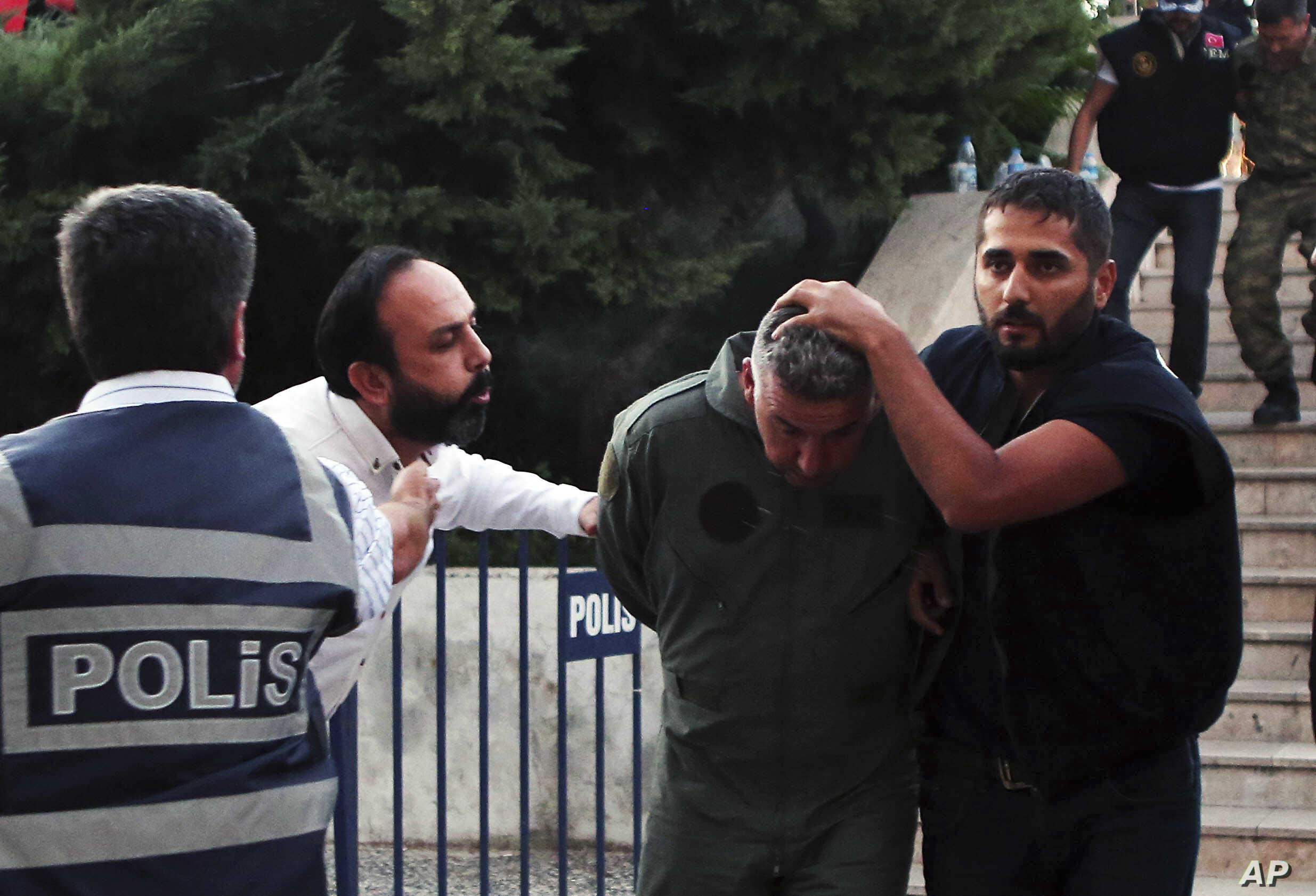 Turkey Military Coup Arrest